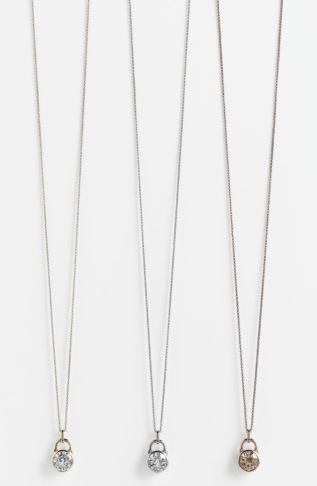 Alternate Image 1 Selected - Michael Kors 'Brilliance' Pendant Necklace