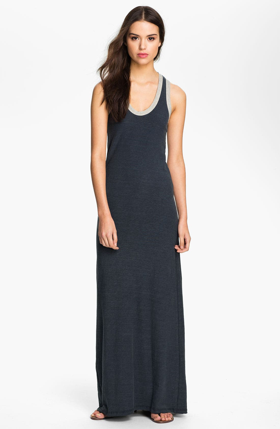 Alternate Image 1 Selected - James Perse Racerback Maxi Dress