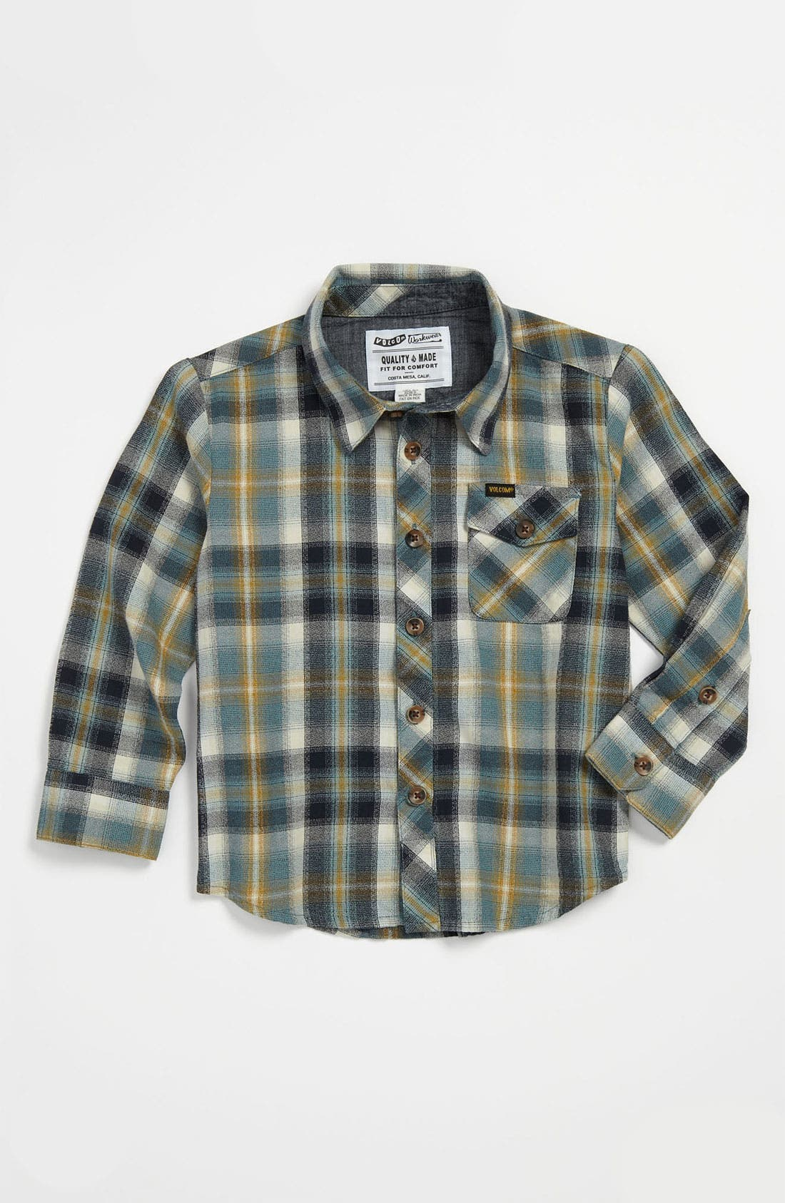Main Image - Volcom 'Cruz' Woven Shirt (Big Boys)