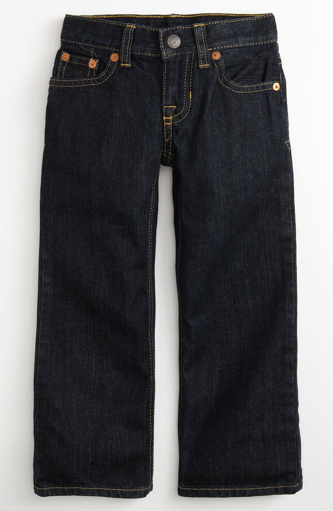 Alternate Image 2  - Ralph Lauren Skinny Leg Jeans (Toddler)