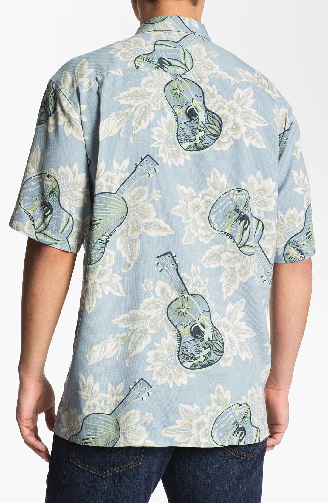 Alternate Image 2  - Tommy Bahama 'Island Jams' Silk Campshirt (Online Only)
