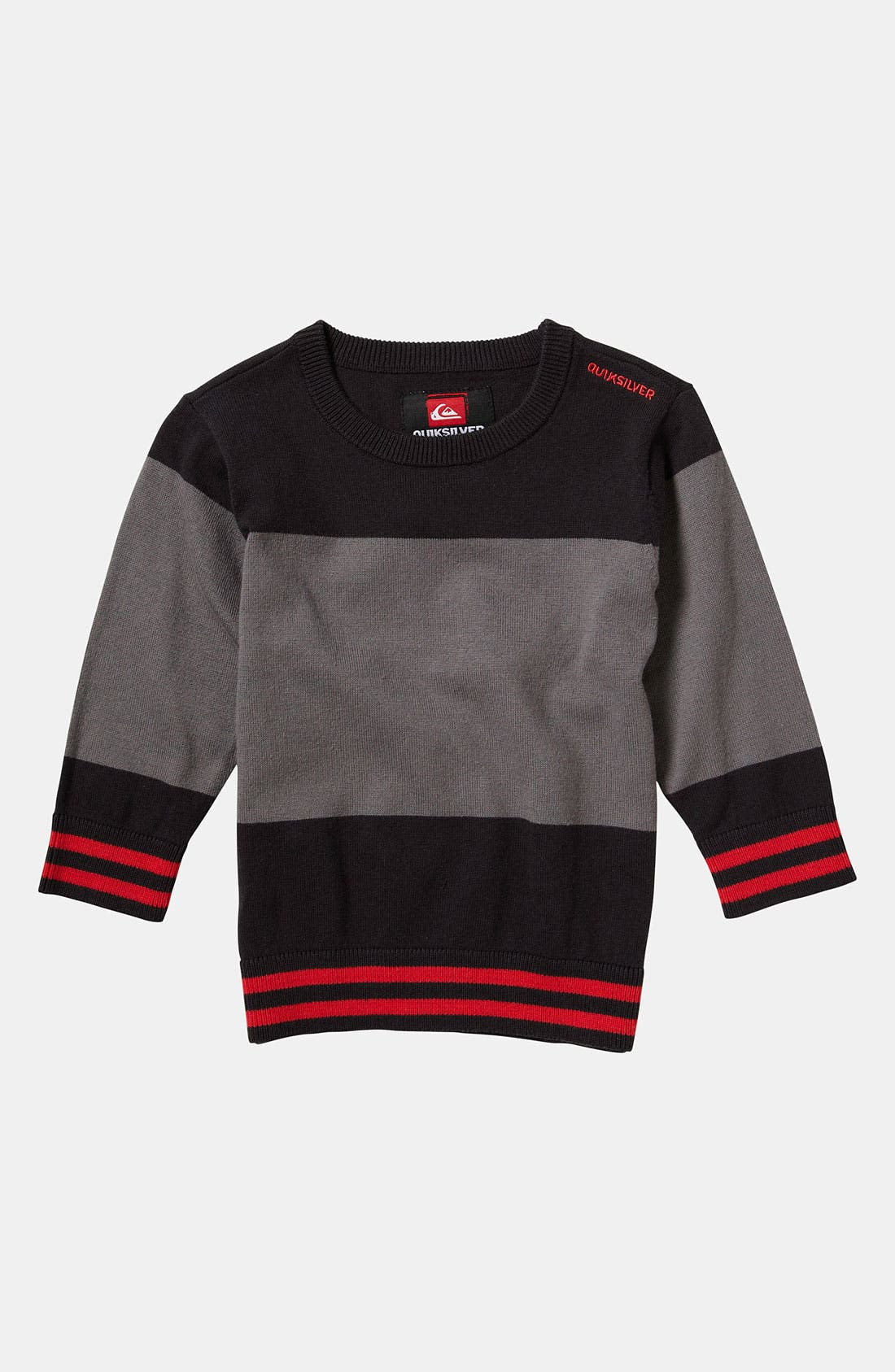 Main Image - Quiksilver 'Wild Card' Sweater (Toddler)