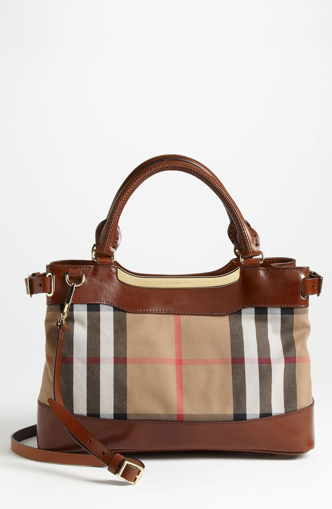 Alternate Image 1 Selected - Burberry 'House Check -Small' Tote