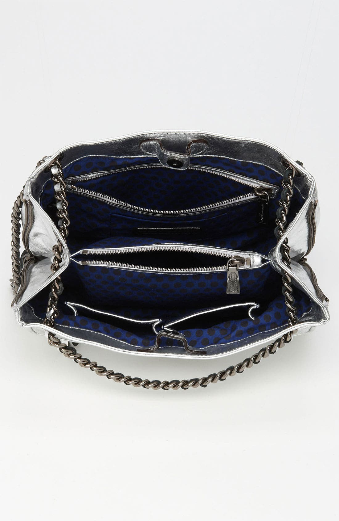 Alternate Image 3  - Rebecca Minkoff 'Swing' Metallic Leather Shoulder Bag