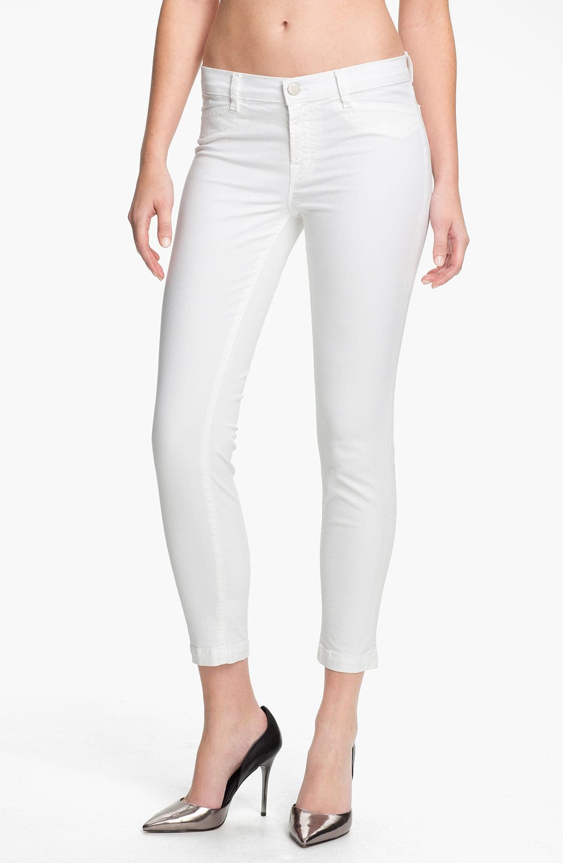 Alternate Image 1 Selected - J Brand 'Harper' Crop Skinny Jeans