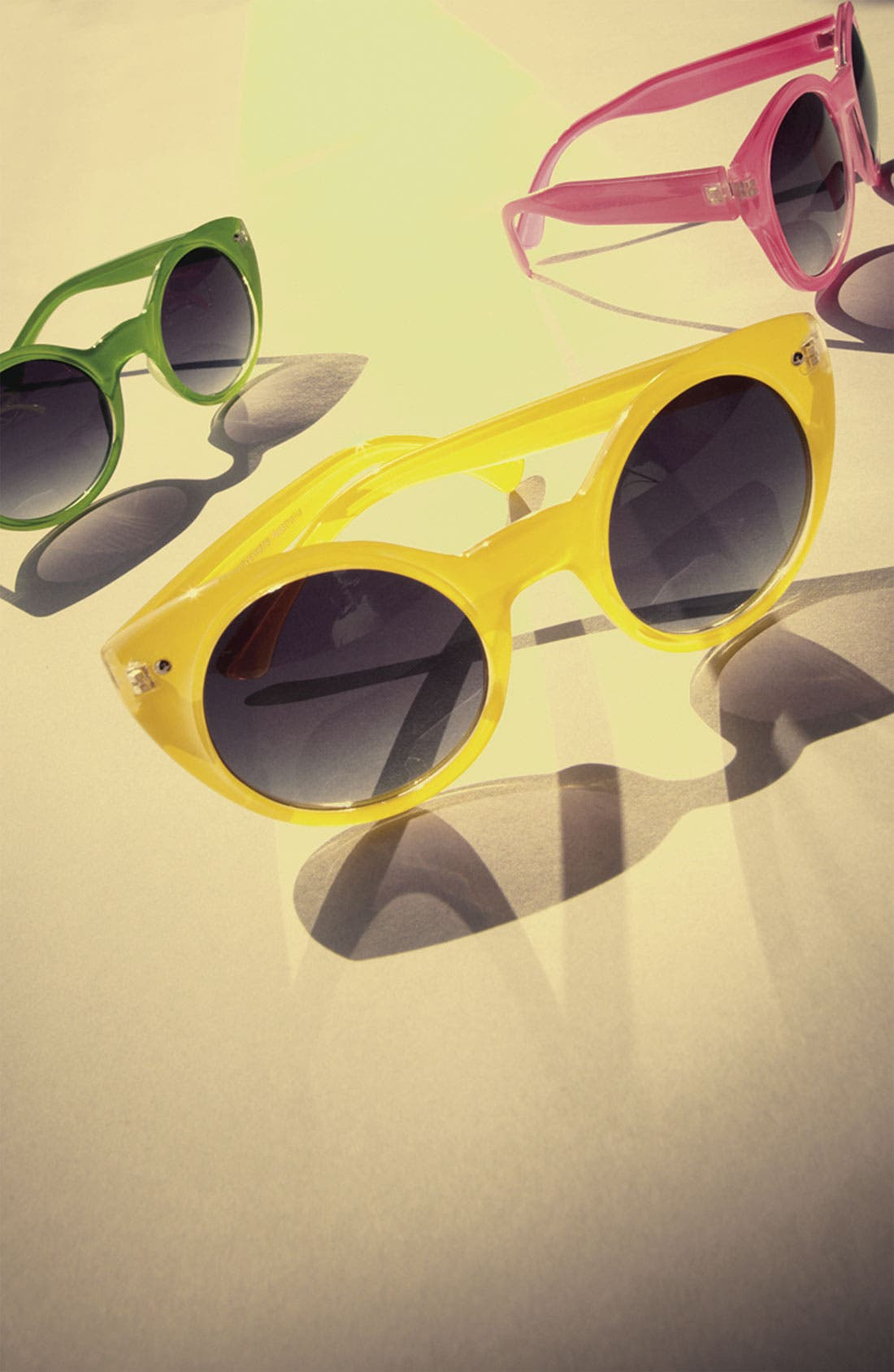 Alternate Image 2  - Quay Retro Sunglasses
