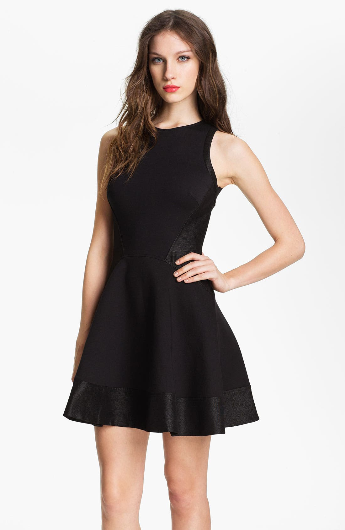 Alternate Image 1 Selected - Ted Baker London Fit & Flare Dress