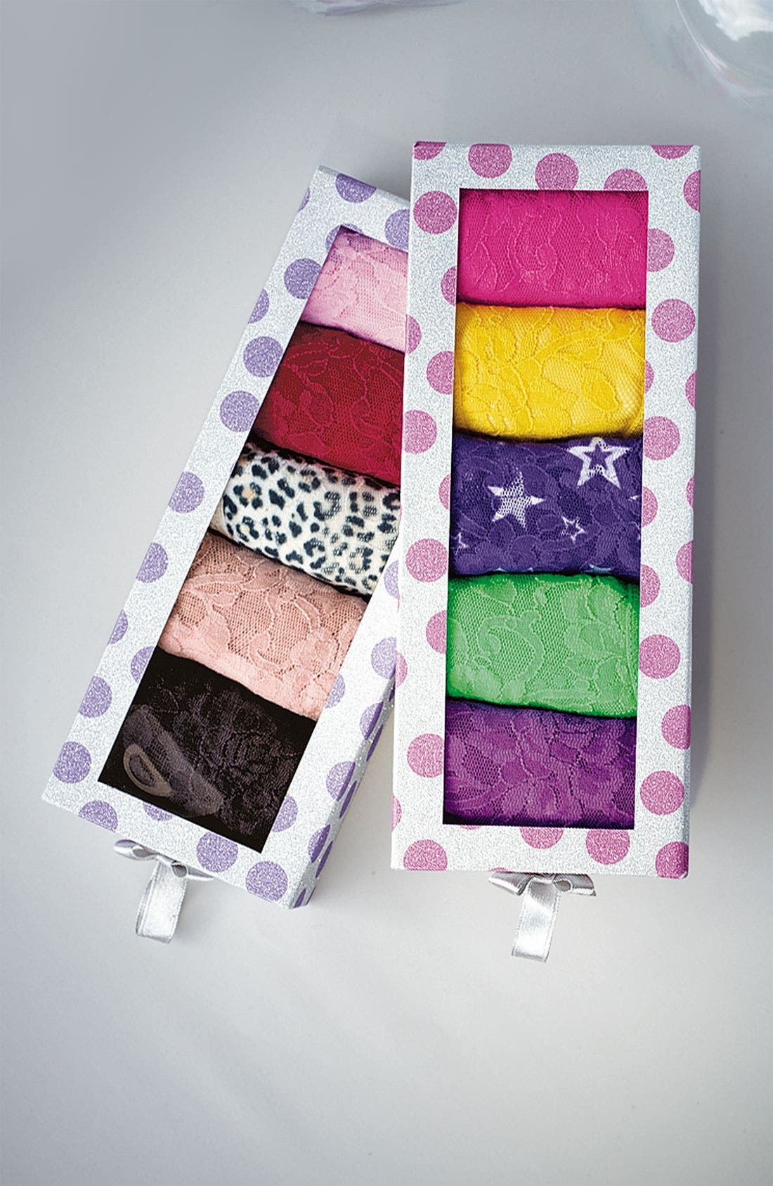 Alternate Image 6  - Hanky Panky Signature Lace Regular Rise Thong (5-Pack) ($103 Value)