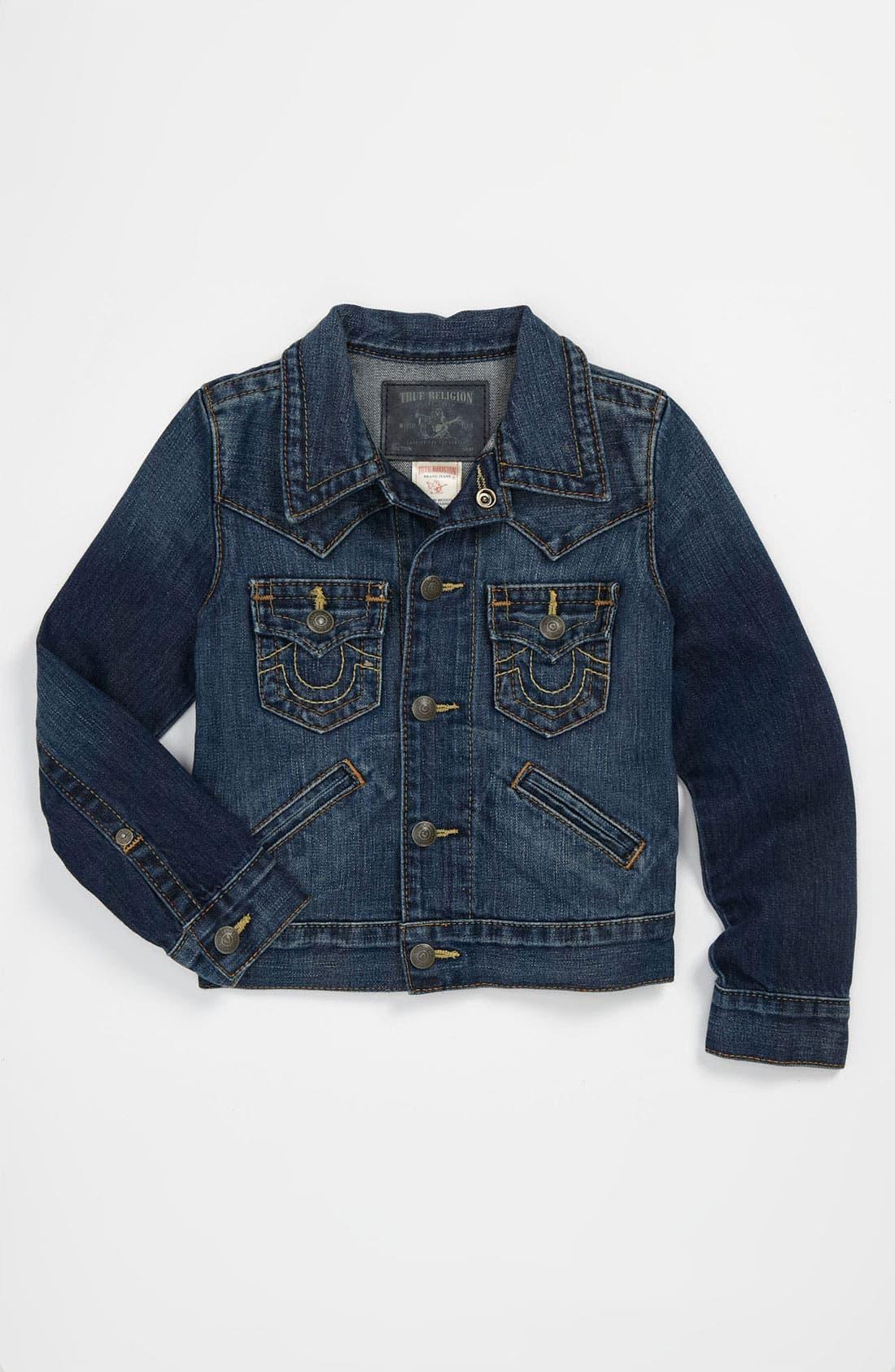 Main Image - True Religion Brand Jeans 'Johnny' Denim Jacket (Little Boys)