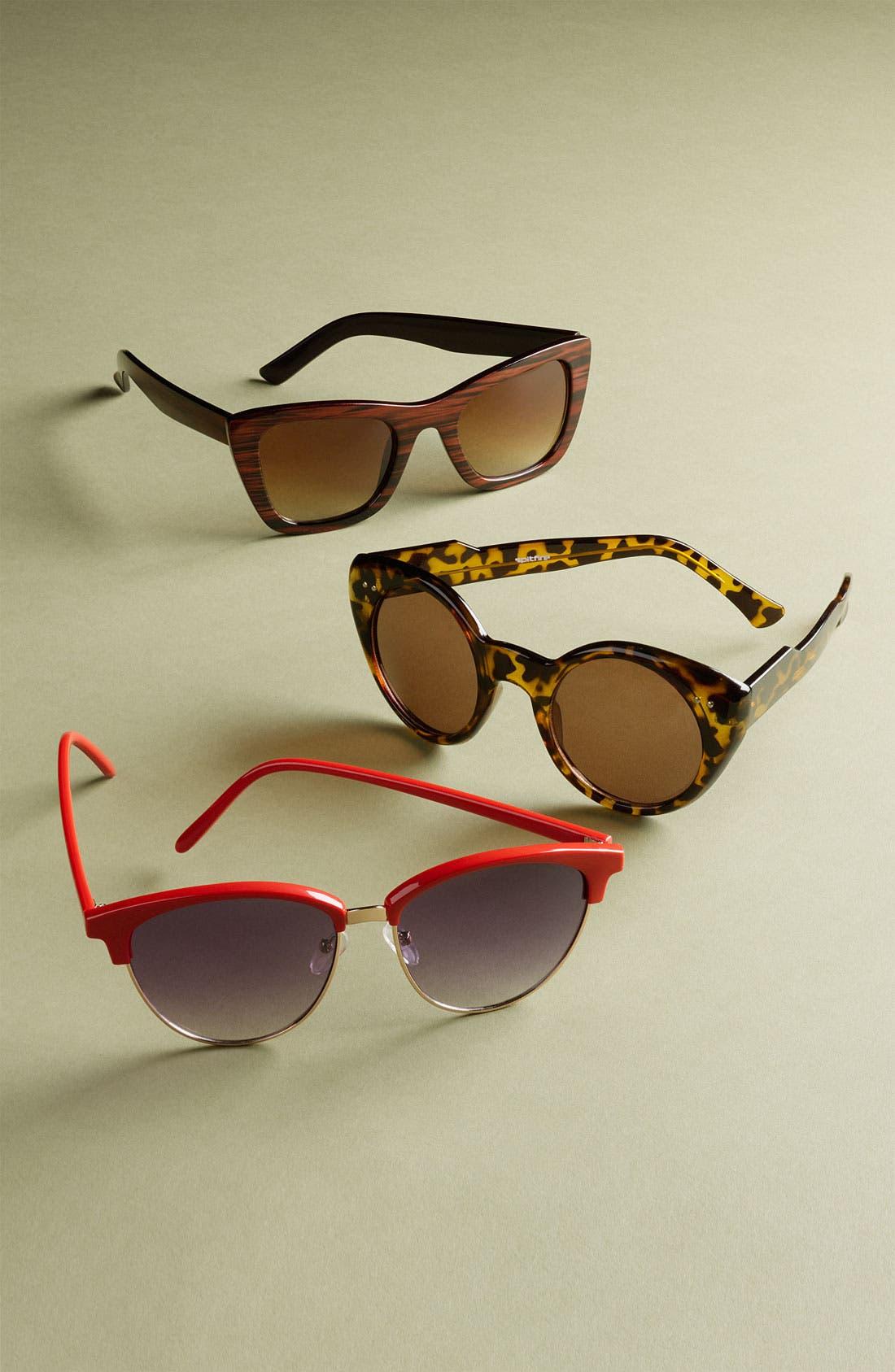 Alternate Image 2  - Quay Retro Sunglasses