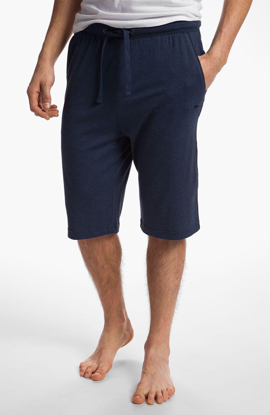 Main Image - Tommy Bahama Cotton Blend Lounge Shorts