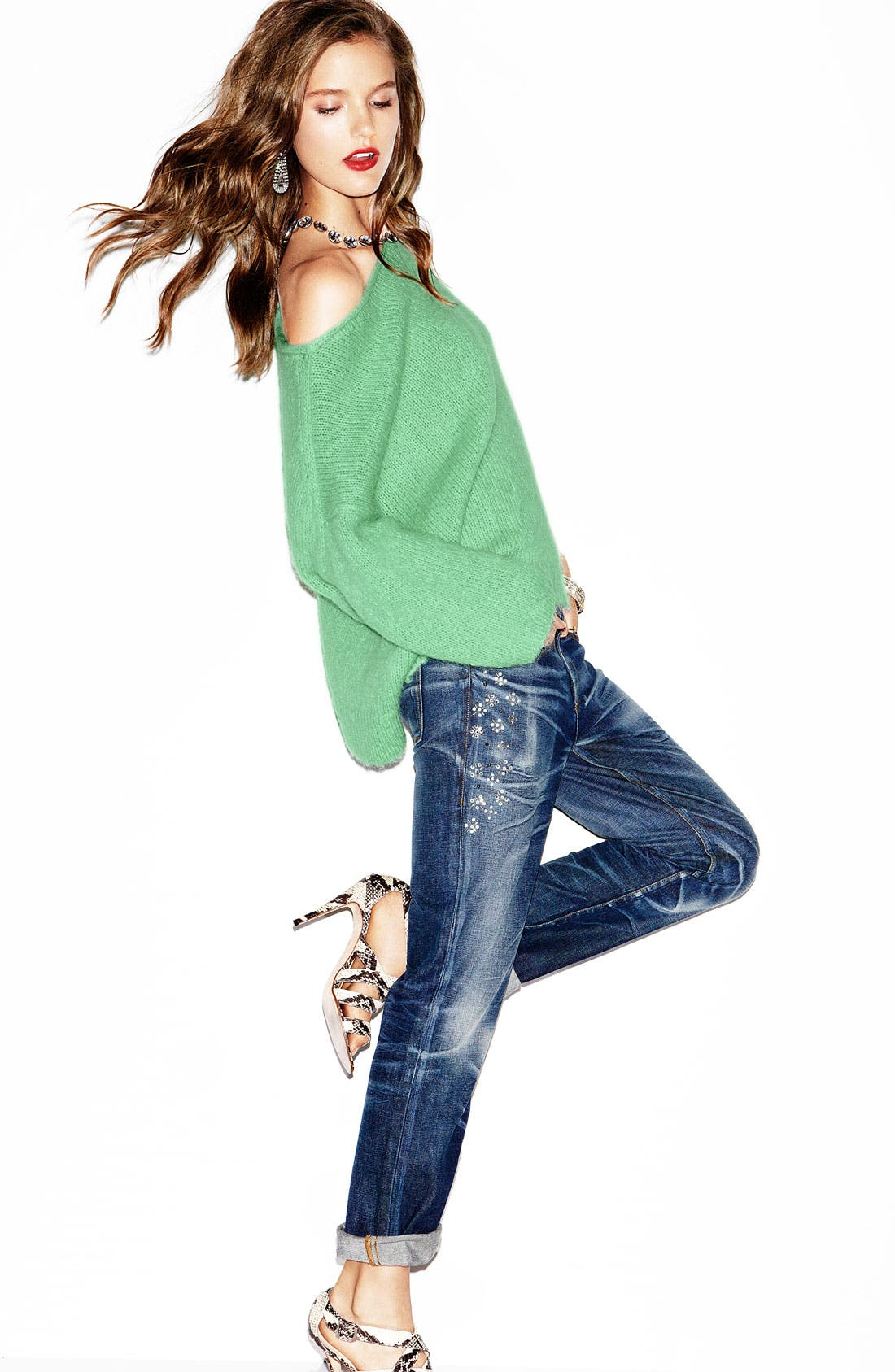 Alternate Image 1 Selected - Juicy Couture Sweater & Jeans