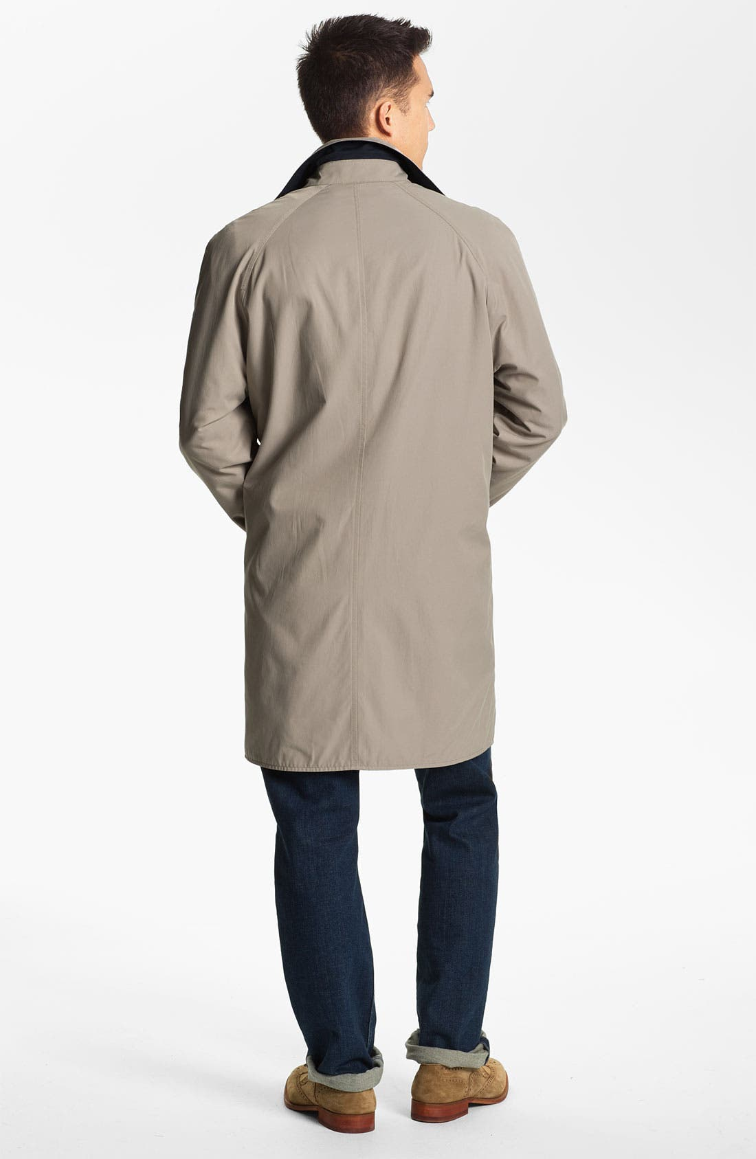 Alternate Image 5  - Façonnable Reversible Trench Coat