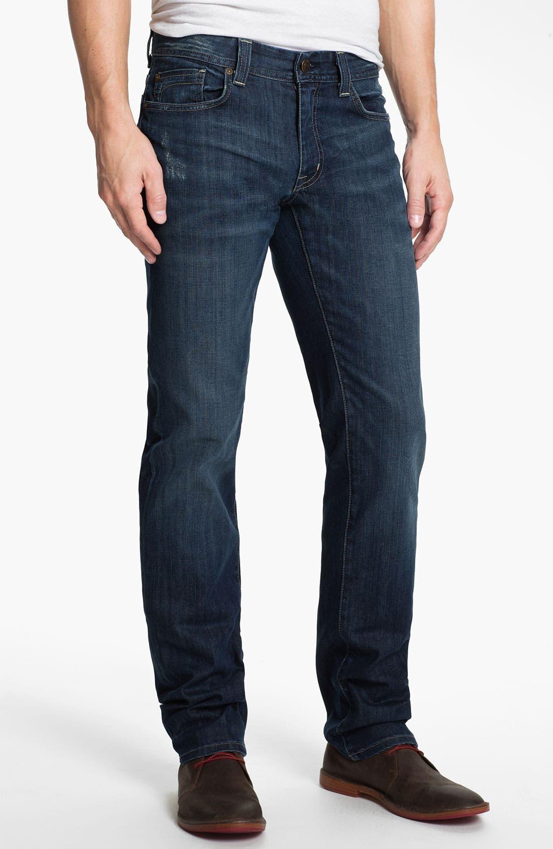 Alternate Image 1 Selected - Fidelity Denim 'Slim Jim' Slim Straight Leg Jeans (Exile Vintage)