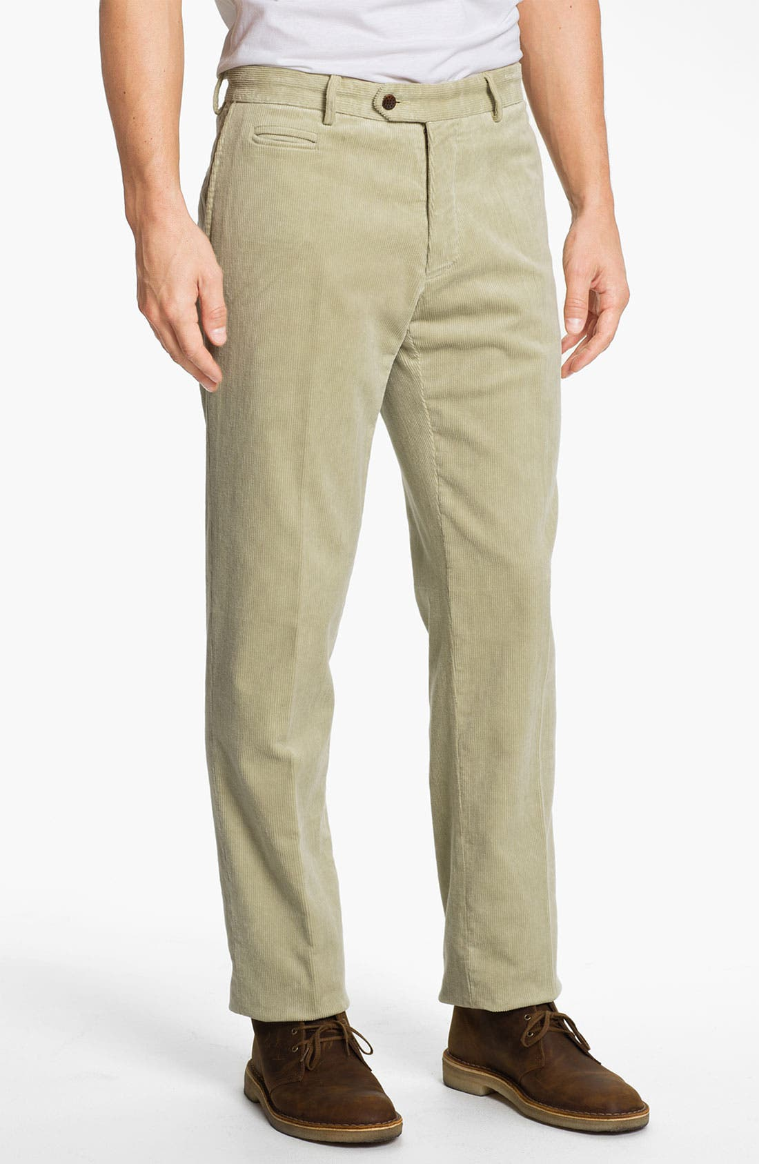 Main Image - Scott James 'Garret' Straight Leg Corduroy Pants