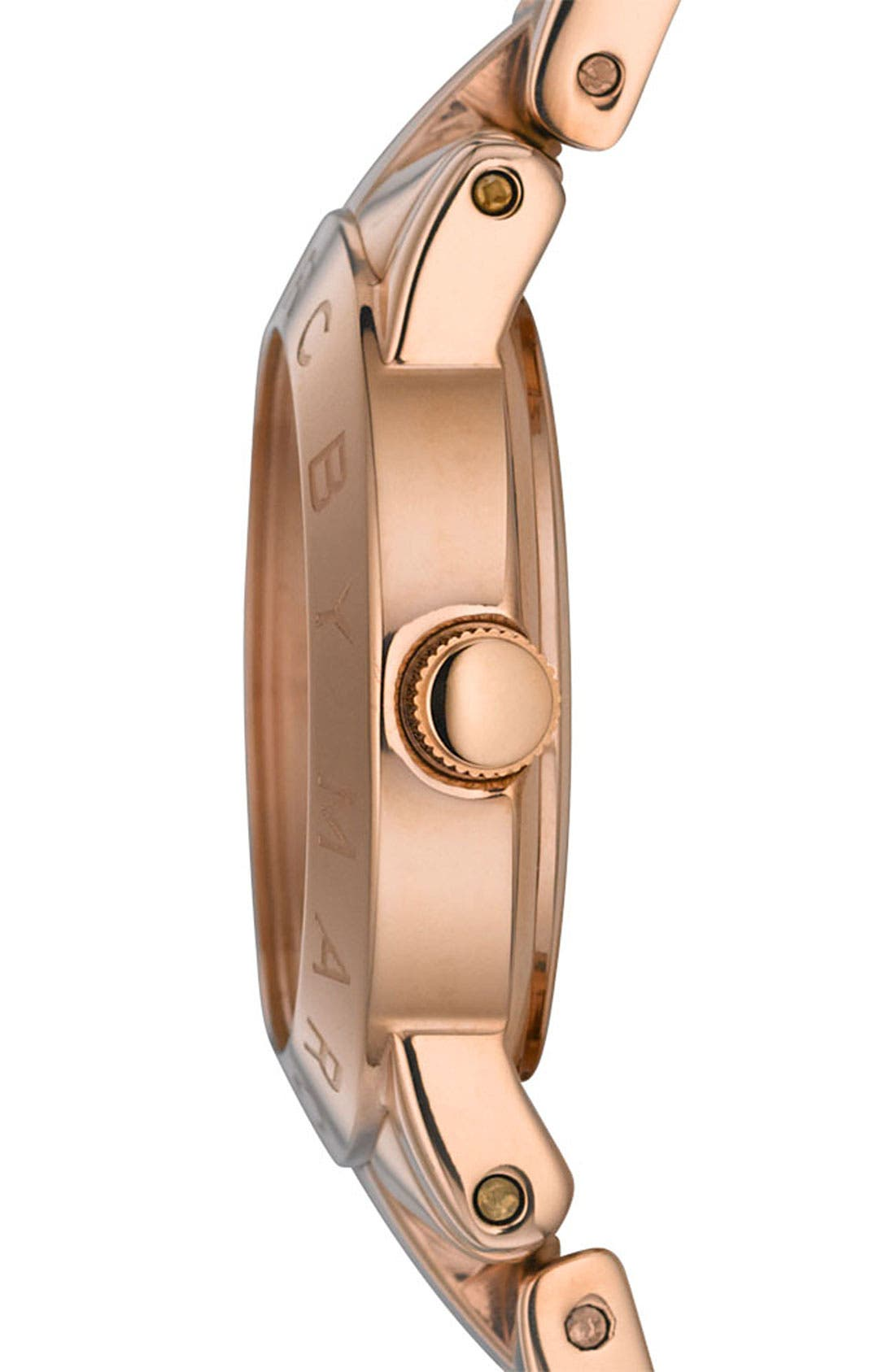 Alternate Image 2  - MARC JACOBS 'Small Amy' Crystal Bracelet Watch, 26mm