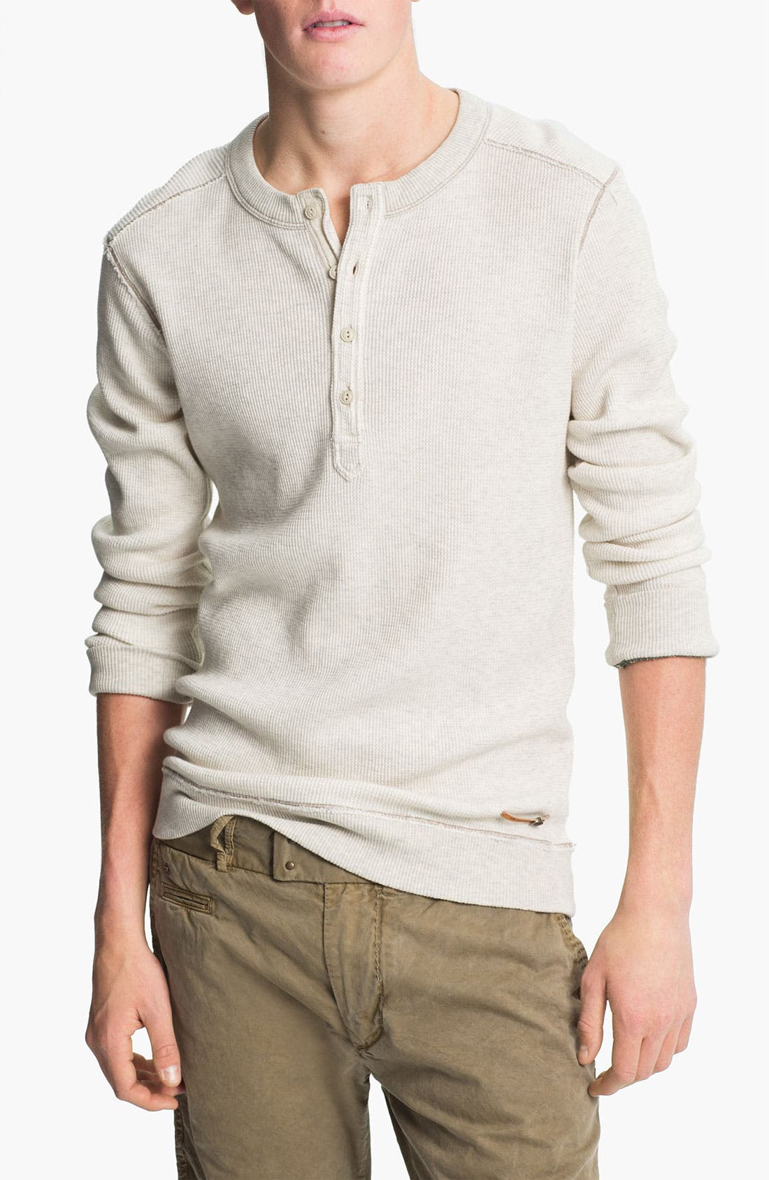 Alternate Image 1 Selected - DIESEL® 'Slack' Henley Sweater
