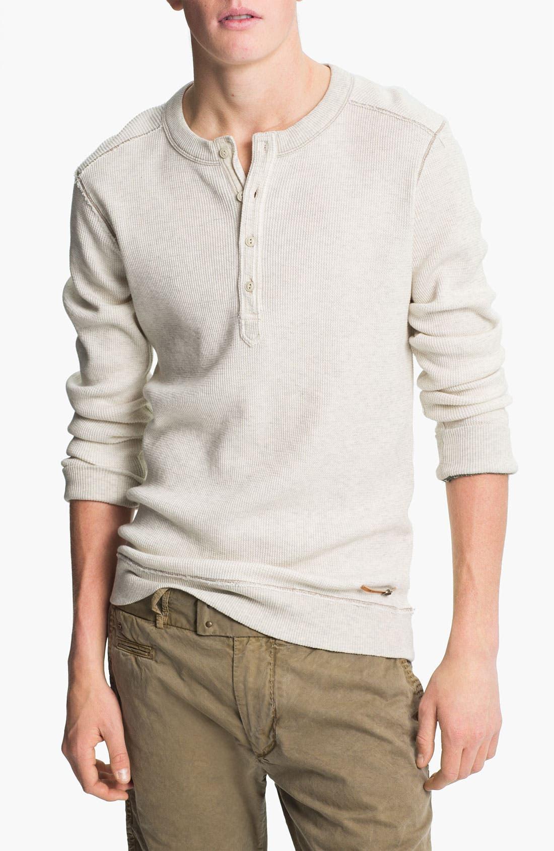 Main Image - DIESEL® 'Slack' Henley Sweater