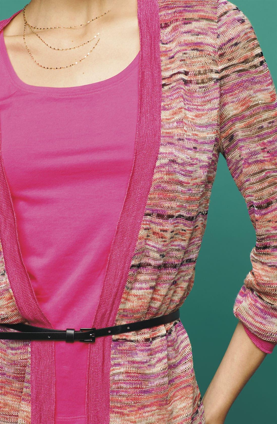 Alternate Image 5  - Nic + Zoe 'Heat Mix' Belted Cardigan (Petite)