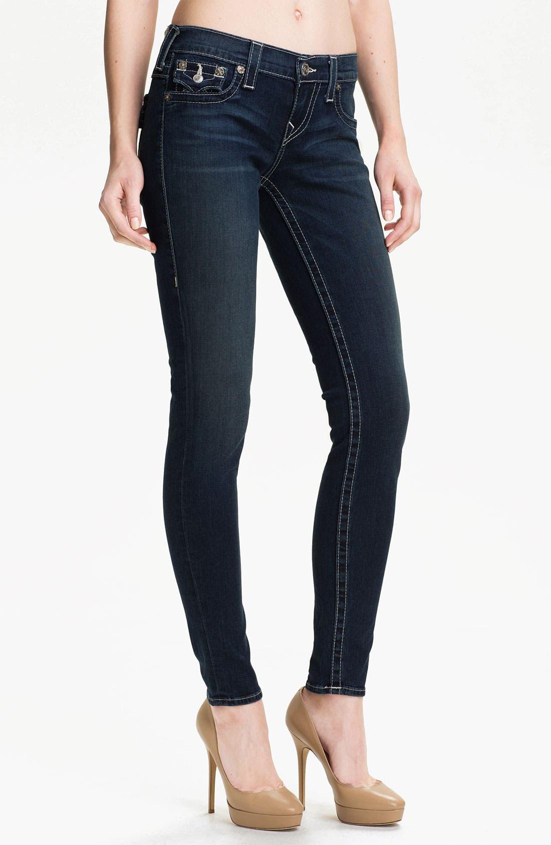 Main Image - True Religion Brand Jeans 'Misty' Skinny Leg Jeans (Buckeye)