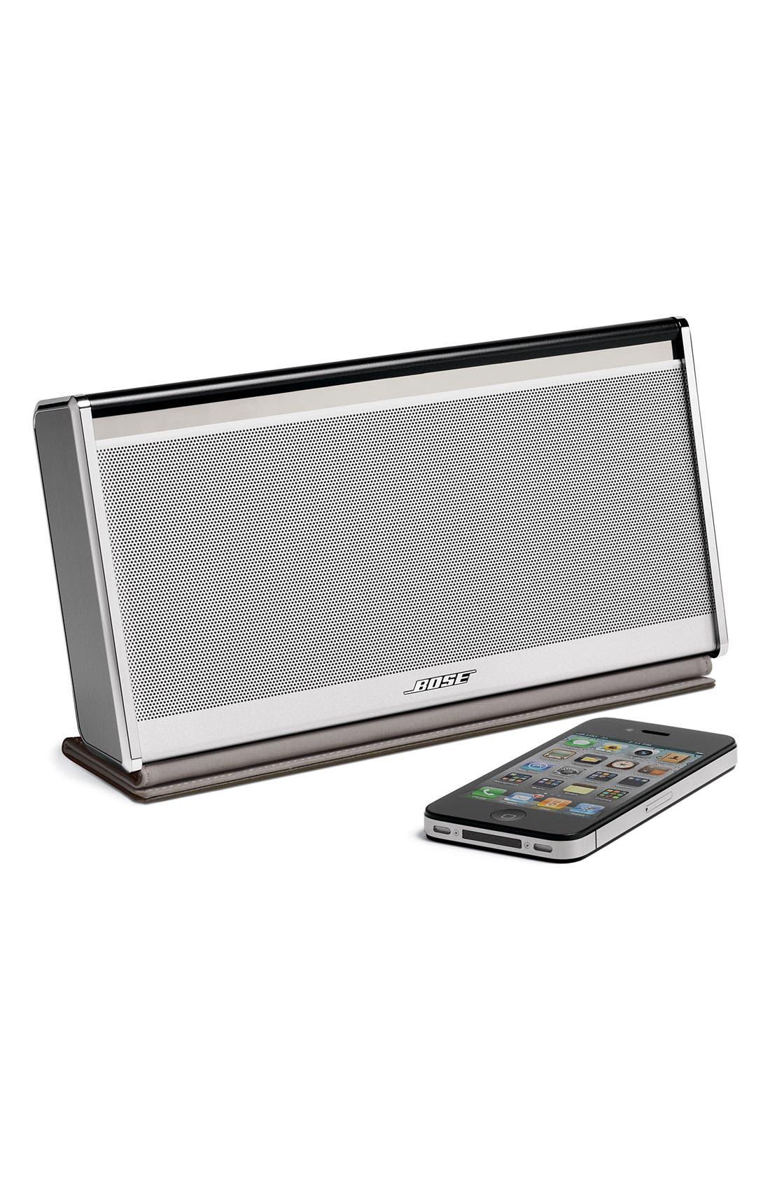 Alternate Image 4  - Bose® SoundLink® Bluetooth® Mobile Speaker II – Leather Edition