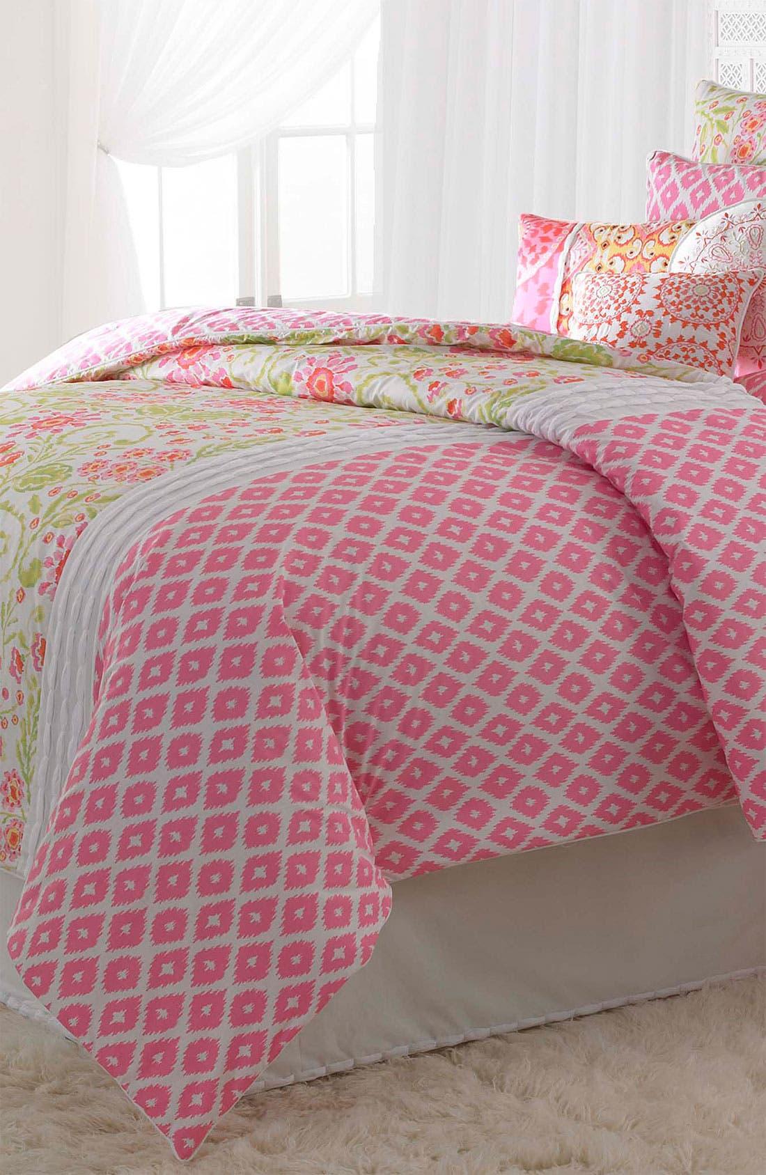 Main Image - Dena Home 'Ikat Blossom' Comforter