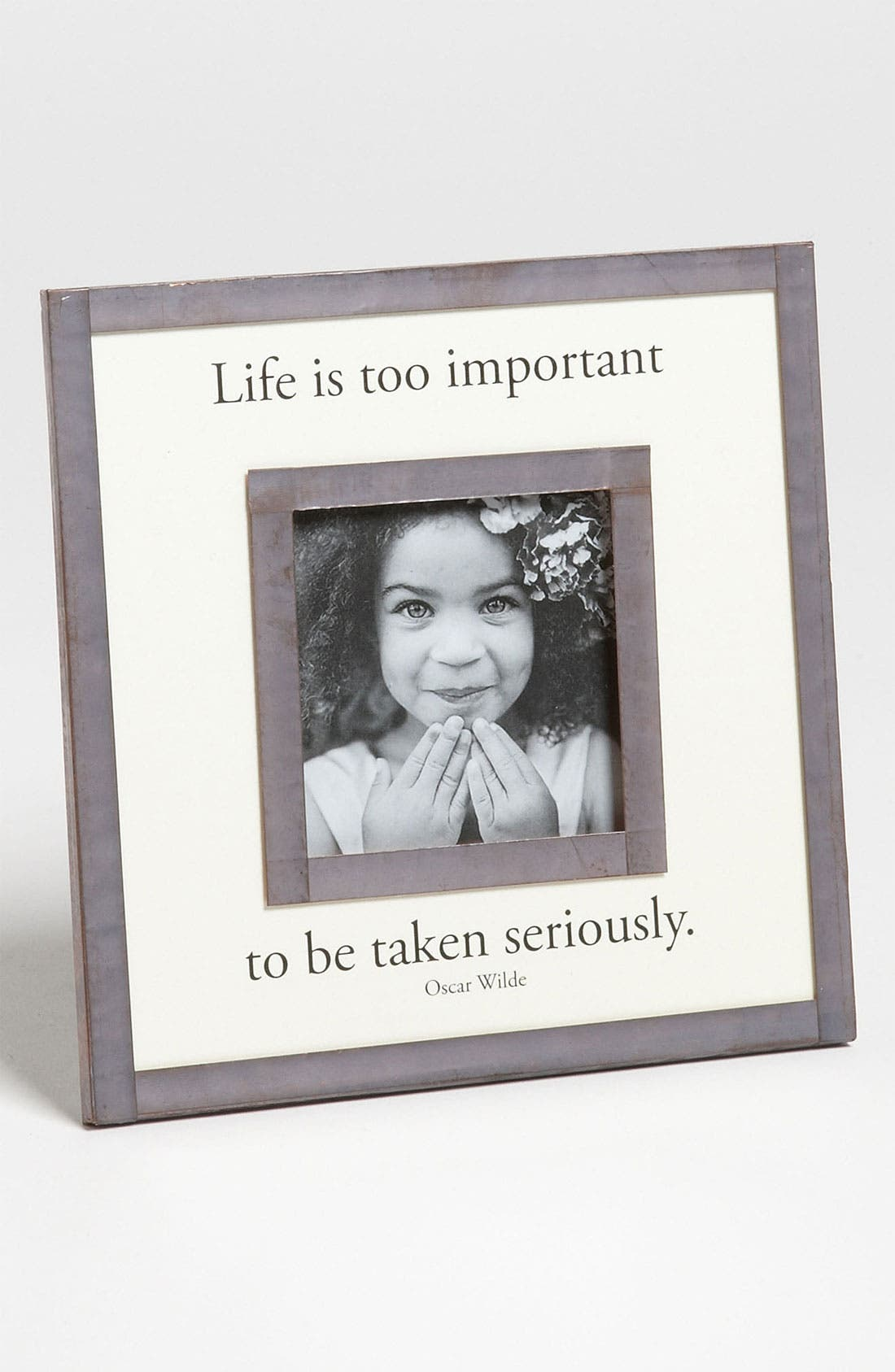 Main Image - Ben's Garden 'Life Is Too Important' Picture Frame