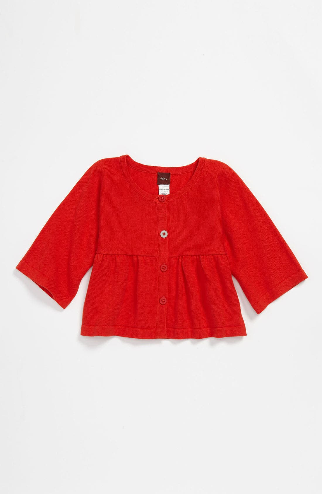 Main Image - Tea Collection 'Charming' Cardigan (Toddler)