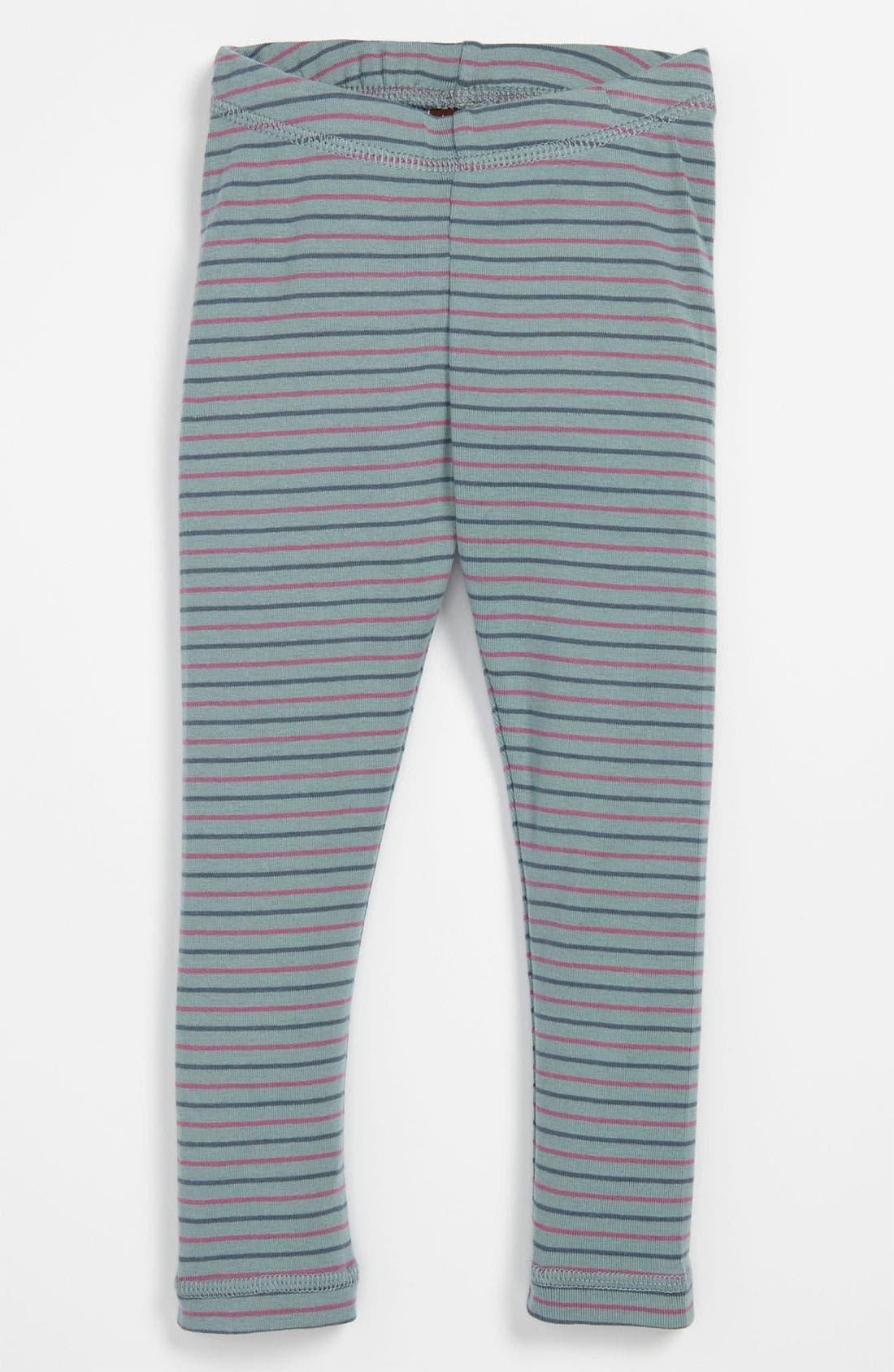 Alternate Image 1 Selected - Tea Collection Stripe Leggings (Infant)
