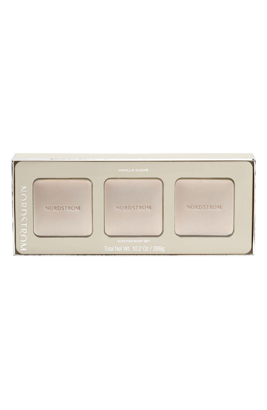 Alternate Image 1 Selected - Nordstrom 'Vanilla Sugar' Scented Soap Set