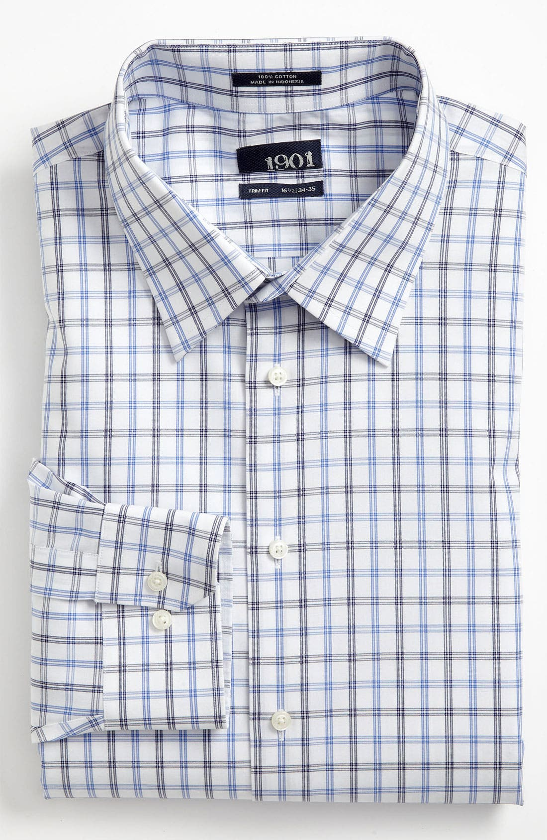 Alternate Image 1 Selected - 1901 Trim Fit Dress Shirt (Online Only)