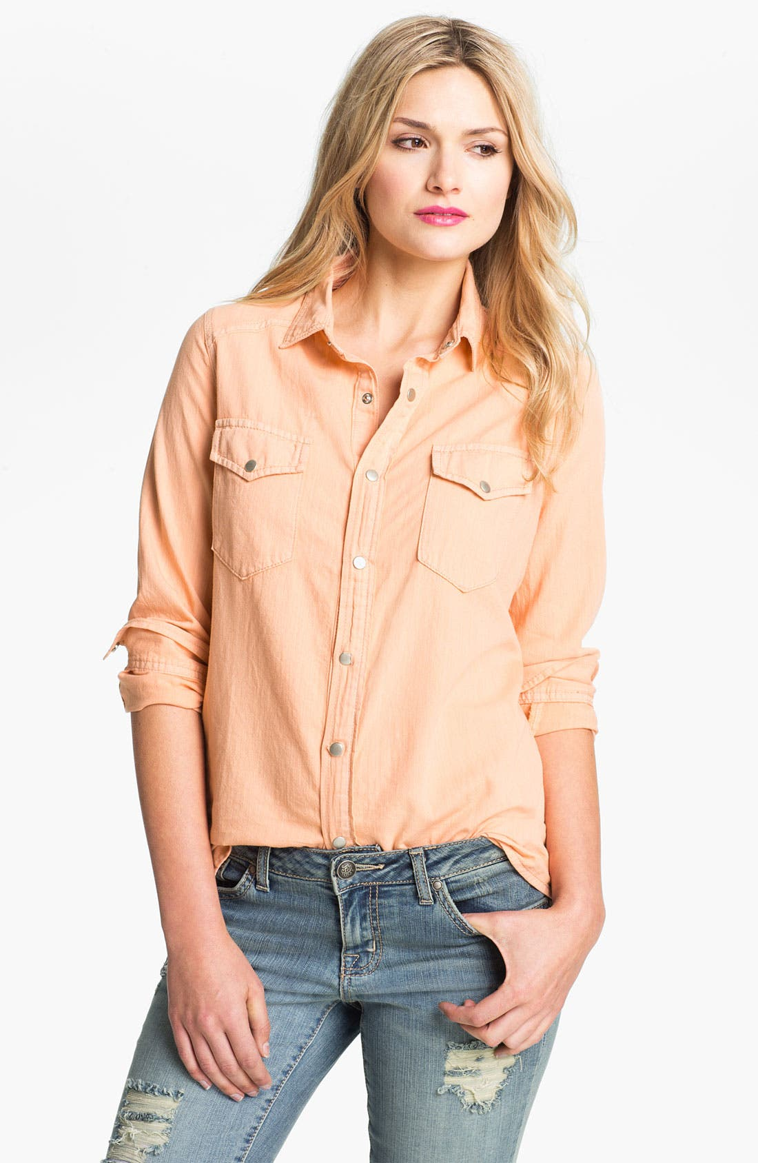 Alternate Image 1 Selected - Jessica Simpson 'Haystack' Shirt