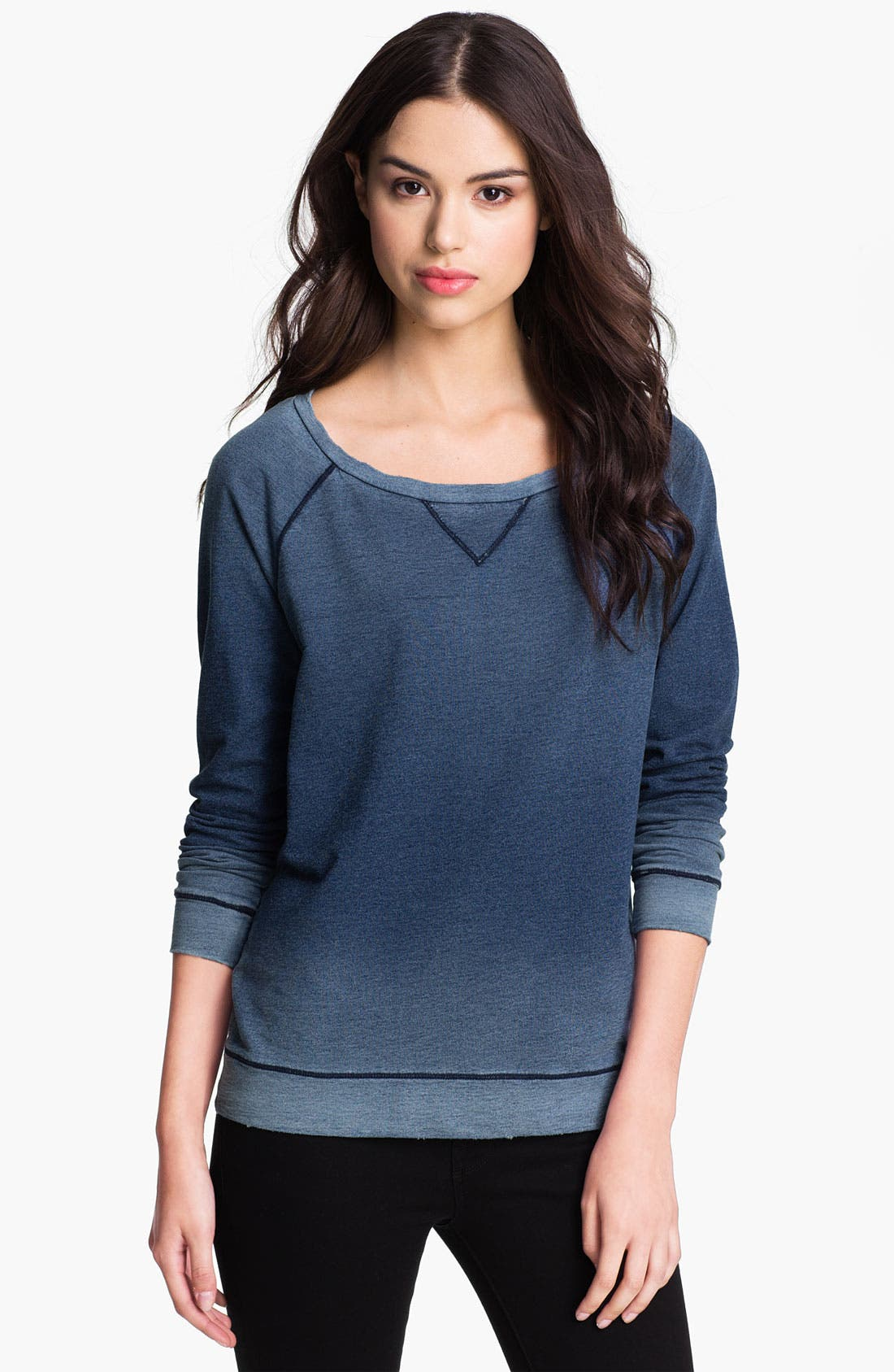 Alternate Image 1 Selected - Soft Joie 'Amity' Ombré Sweatshirt