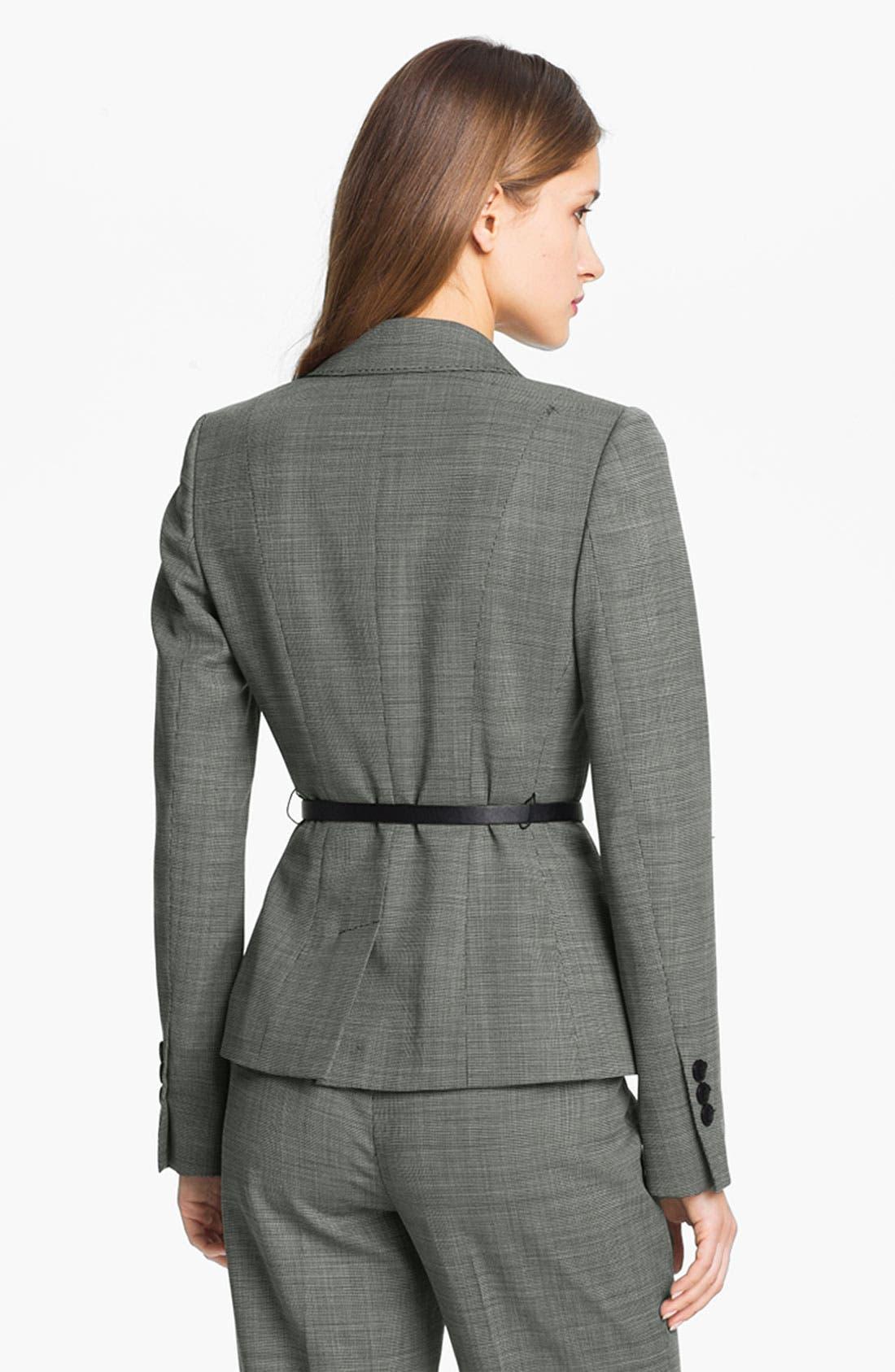 Alternate Image 2  - Classiques Entier® Tropical Wool Jacket