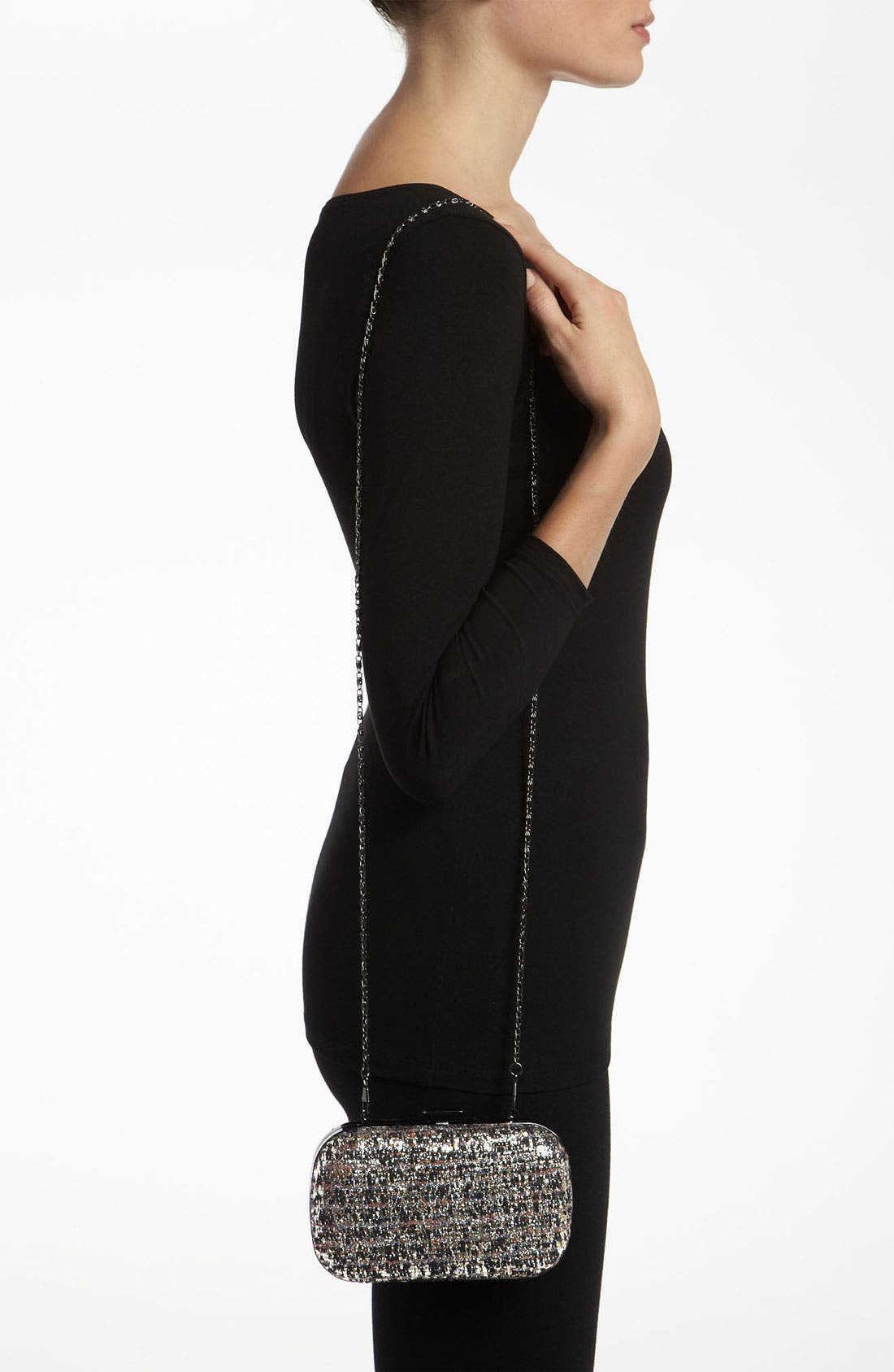Alternate Image 2  - Natasha Couture Tweed Clutch