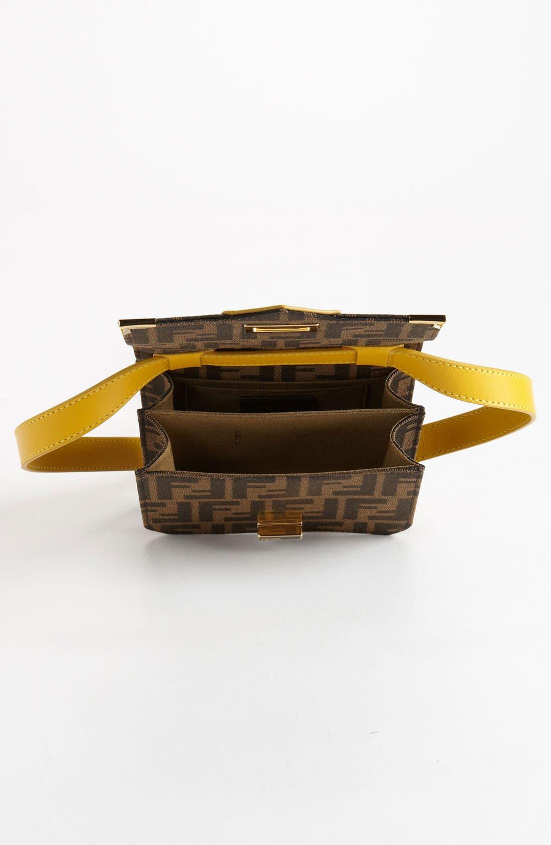 Alternate Image 3  - Fendi 'Tevere Zucca - Mini' Crossbody Bag