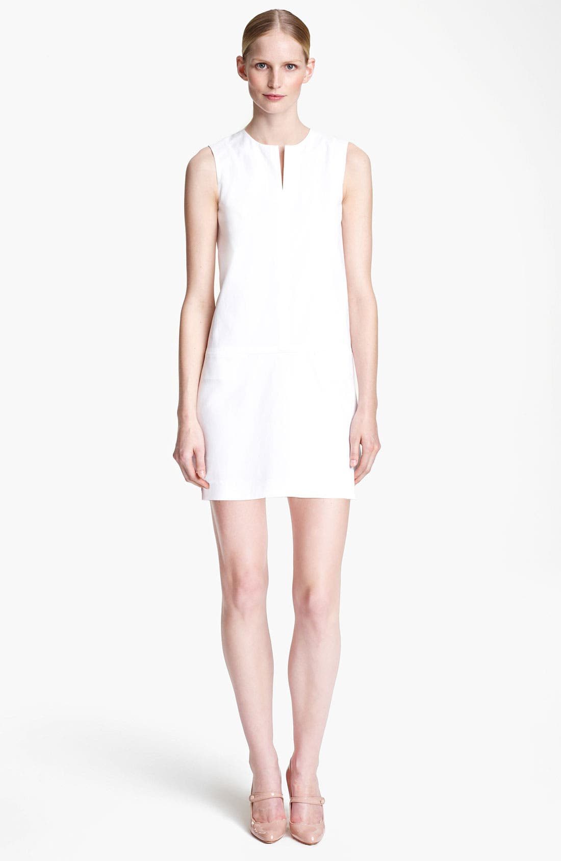 Main Image - Jil Sander Stretch Cotton Dress