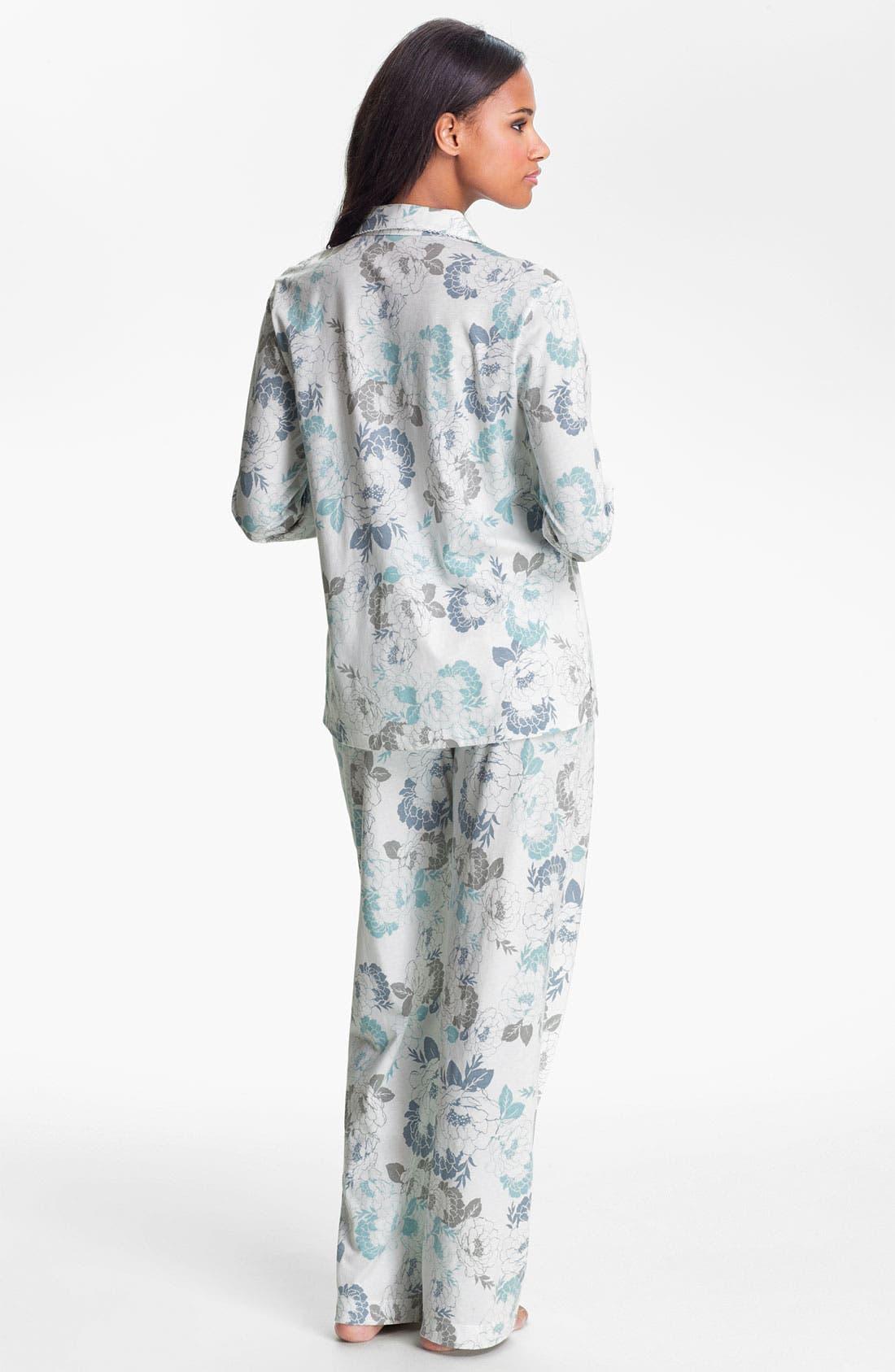 Alternate Image 2  - Carole Hochman Designs 'Airbrushed Floral' Pajamas
