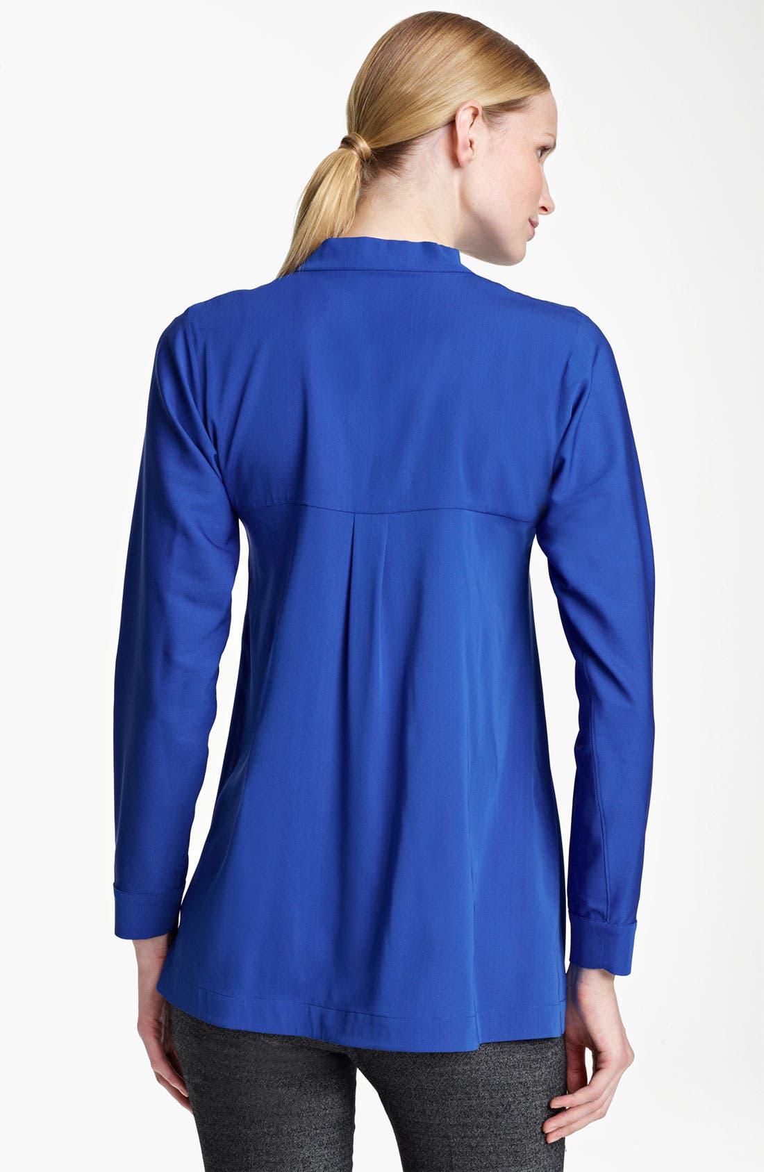 Alternate Image 2  - Jil Sander Stretch Silk Tunic