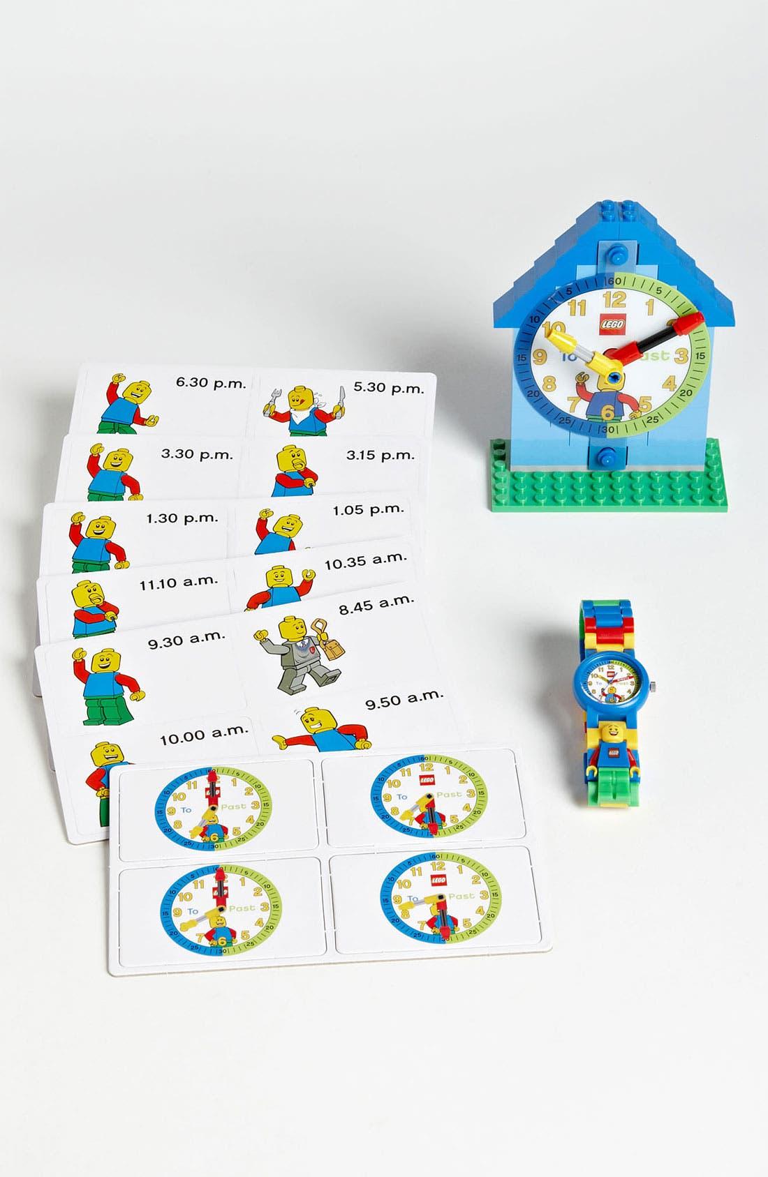 Alternate Image 1 Selected - LEGO® 'Time Teacher' Watch & Activity Clock
