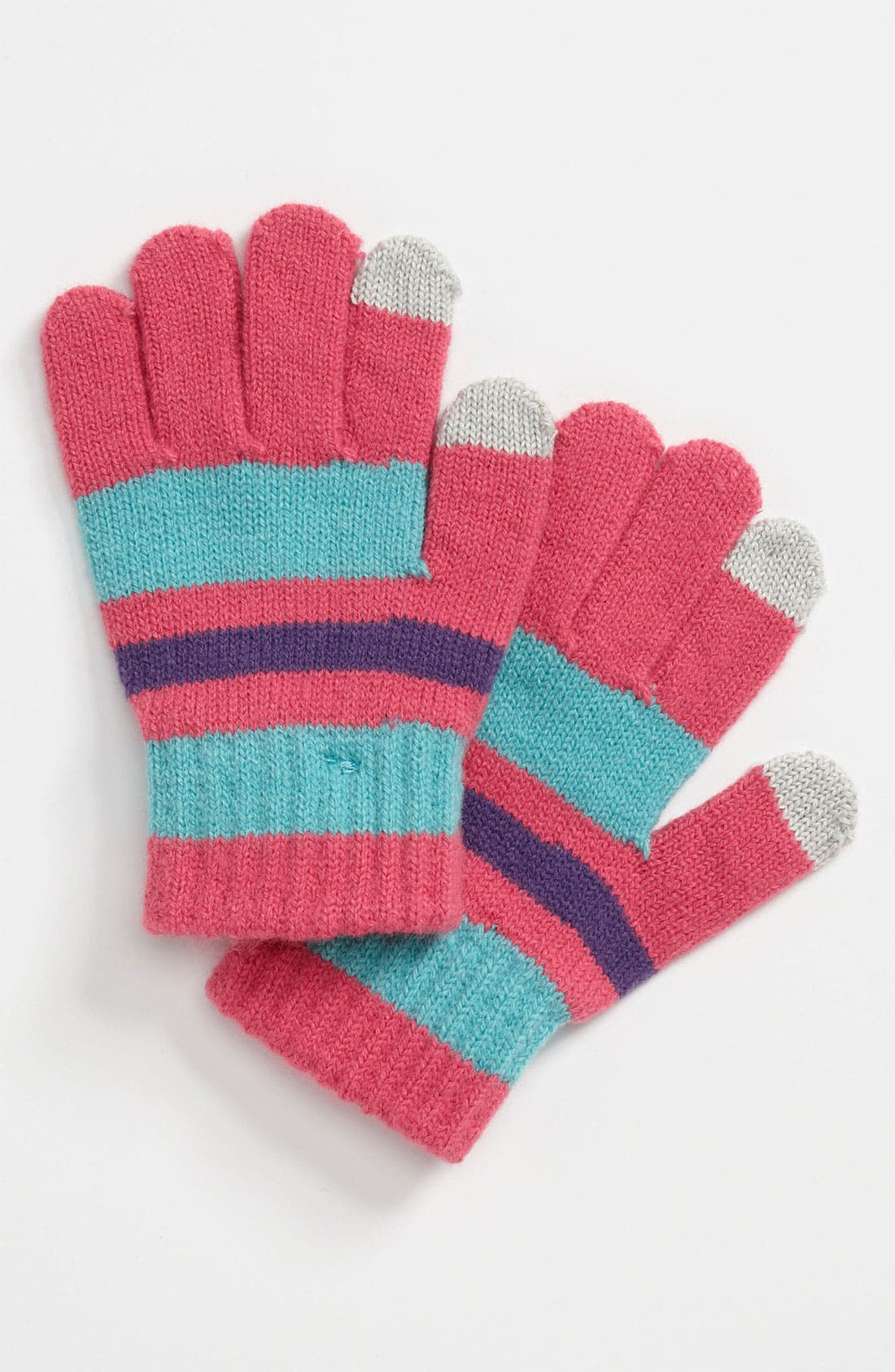 Alternate Image 1 Selected - The Accessory Collective Tech Tip Gloves (Girls)