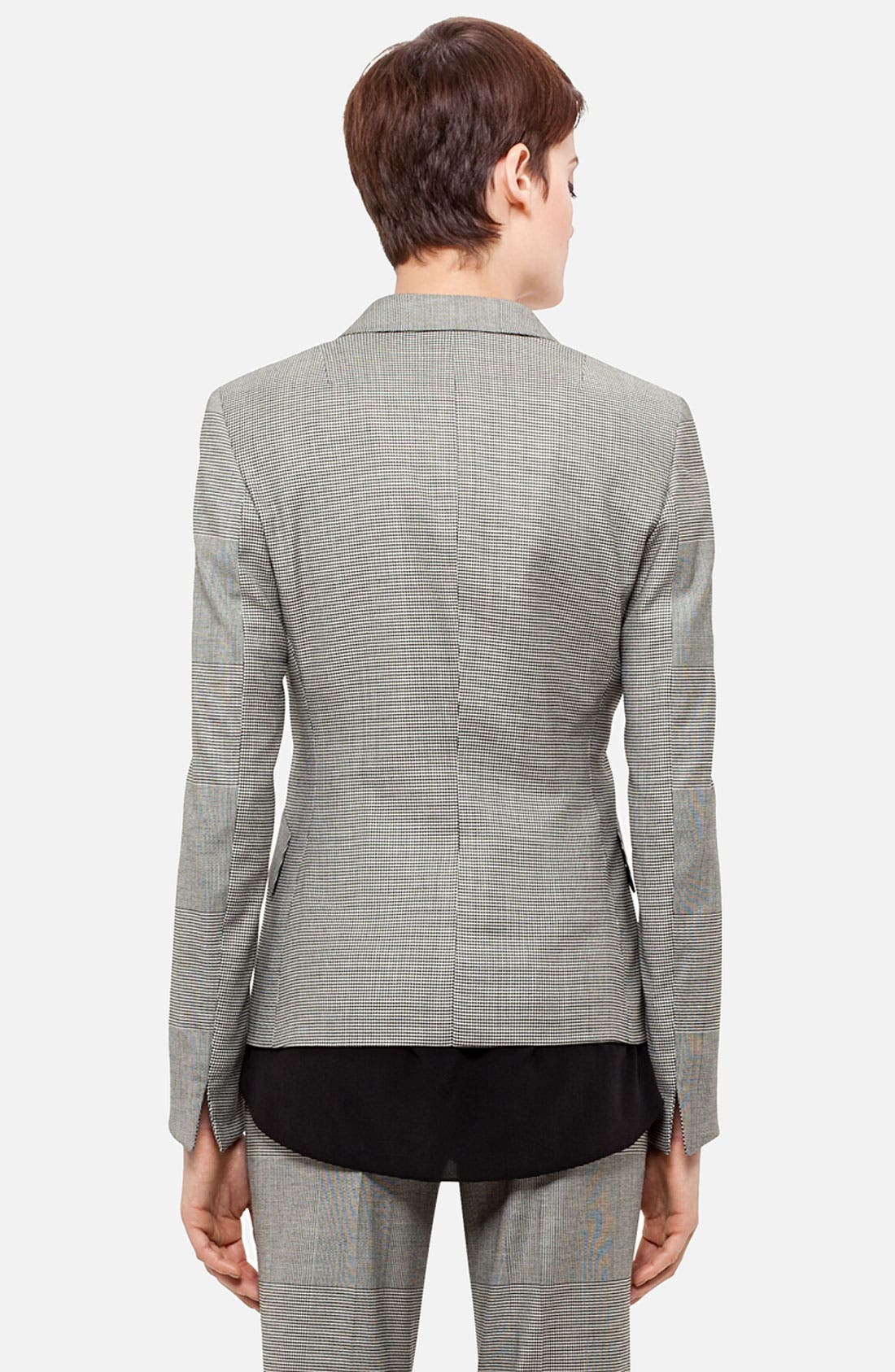 Alternate Image 2  - Akris punto Prince of Wales Two Button Blazer