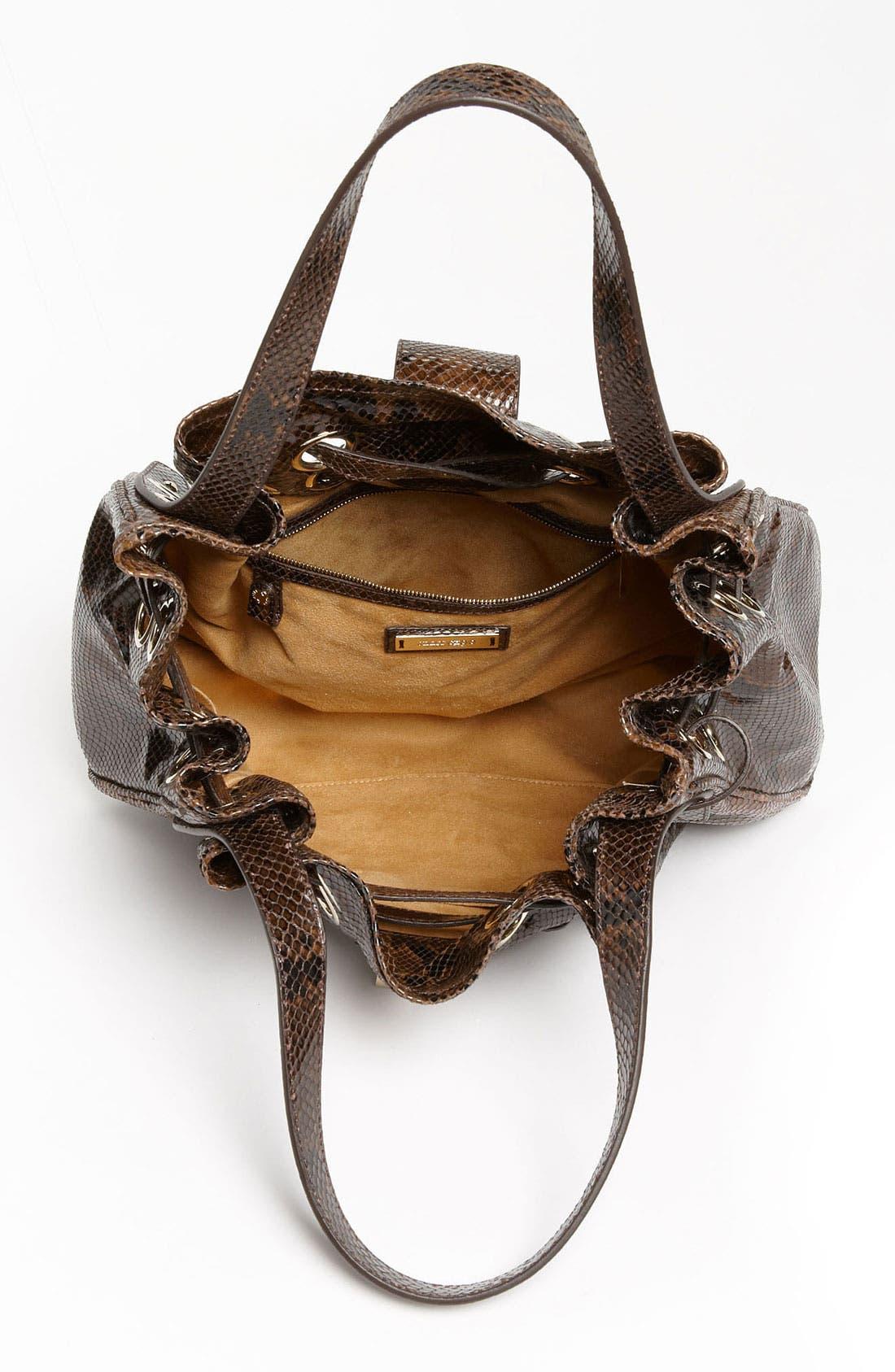Alternate Image 3  - Jimmy Choo 'Ramona' Snake Embossed Leather Shopper, Large