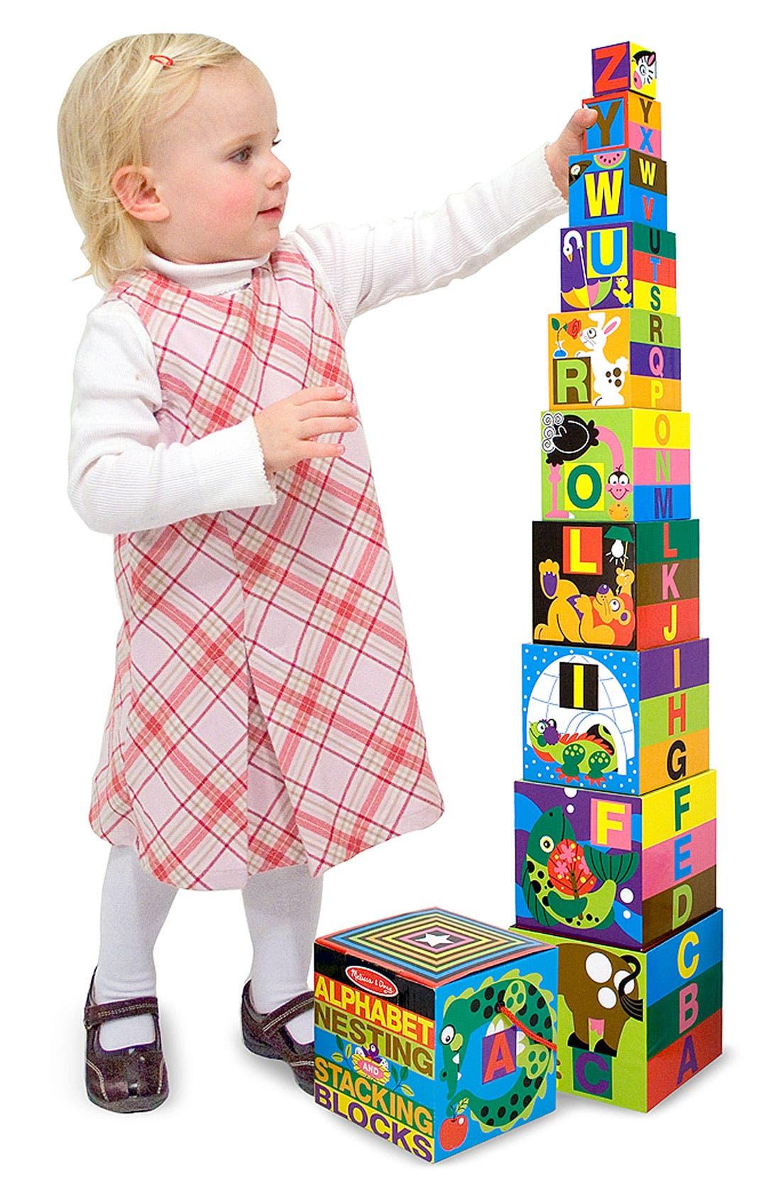 Alternate Image 2  - Melissa & Doug Alphabet Nesting Blocks