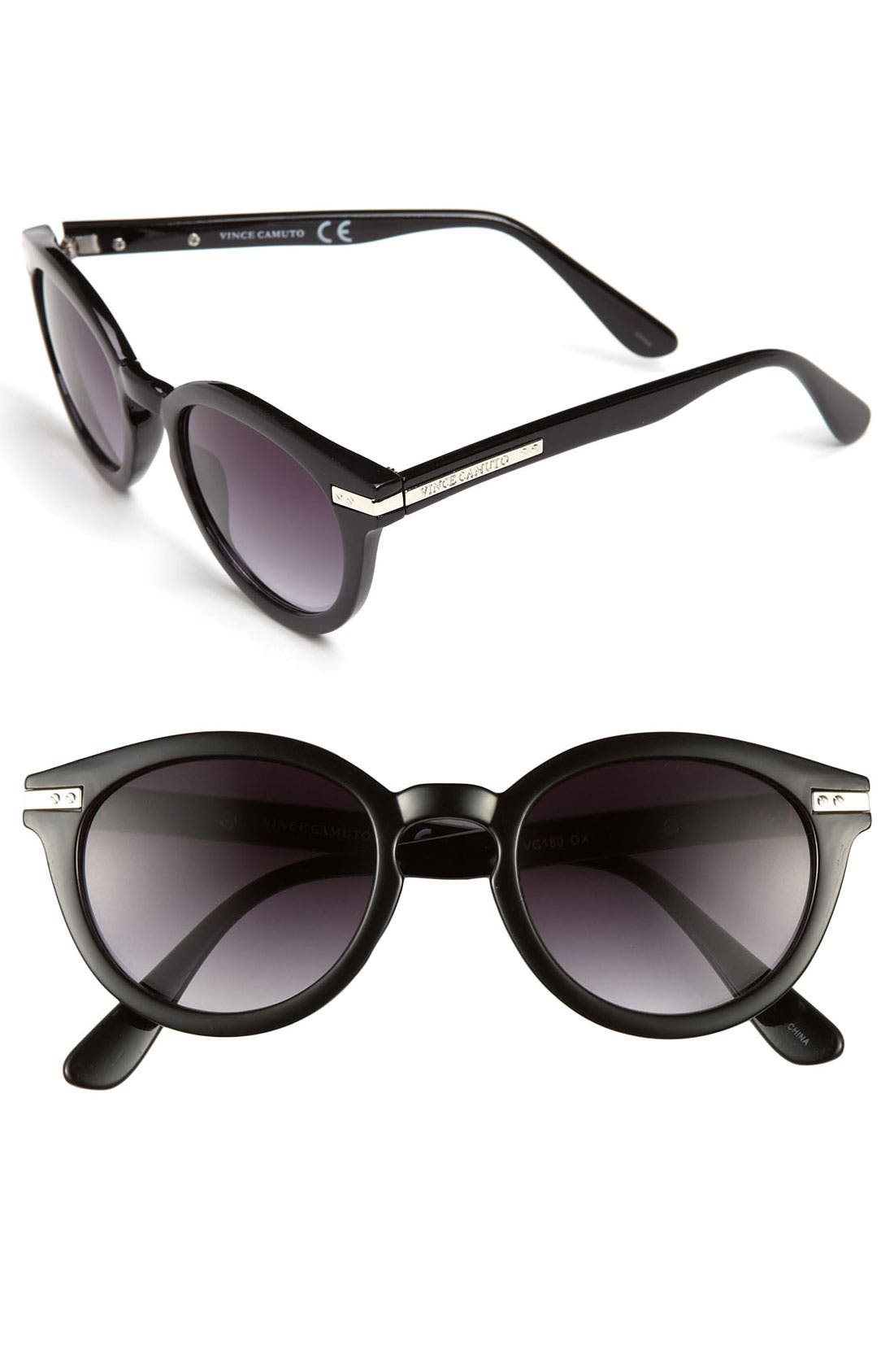Alternate Image 1 Selected - Vince Camuto 50mm Vintage Round Sunglasses