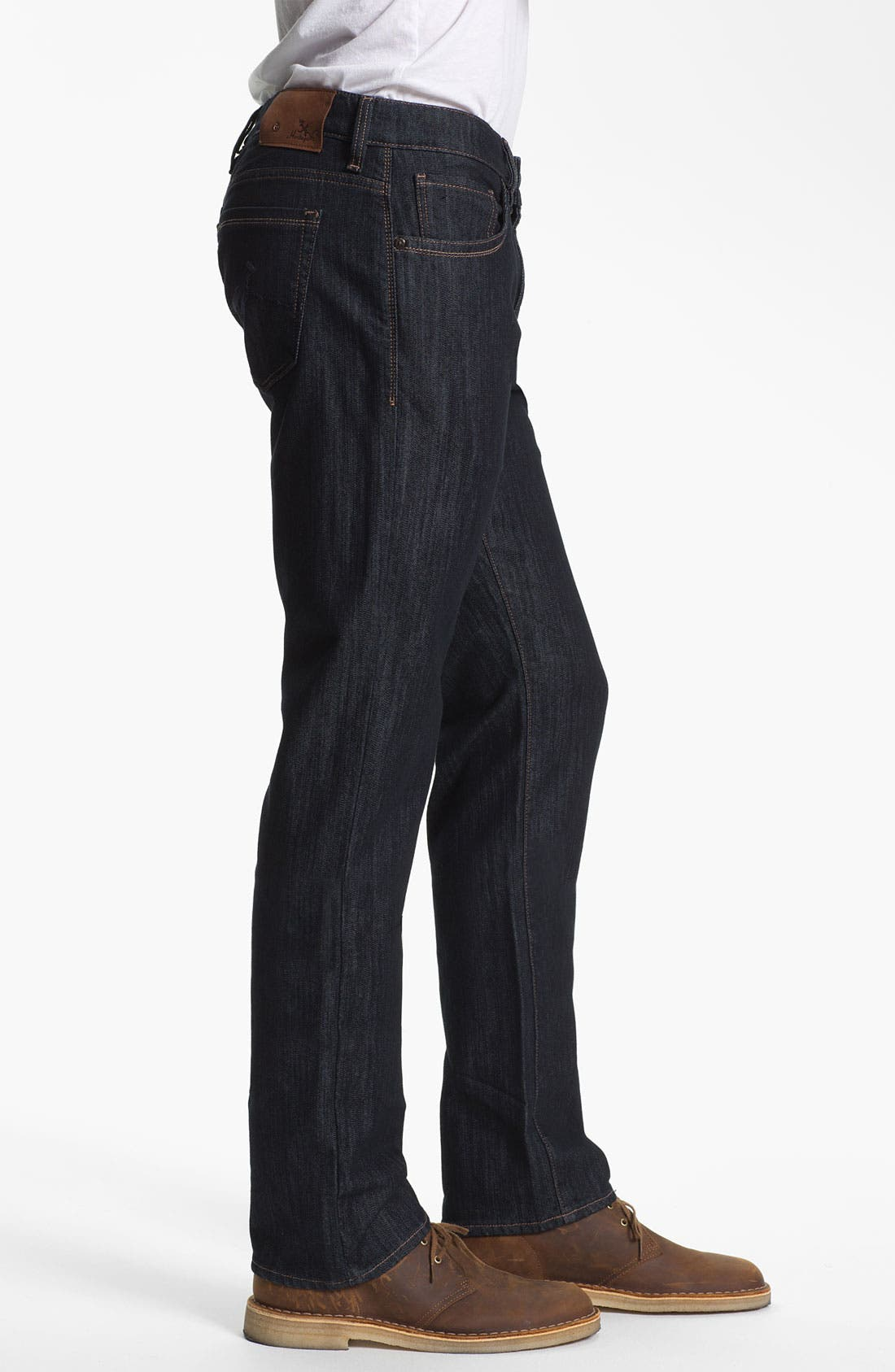 Alternate Image 3  - 34 Heritage 'Courage' Straight Leg Jeans (Rinse Mercerized) (Online Only)