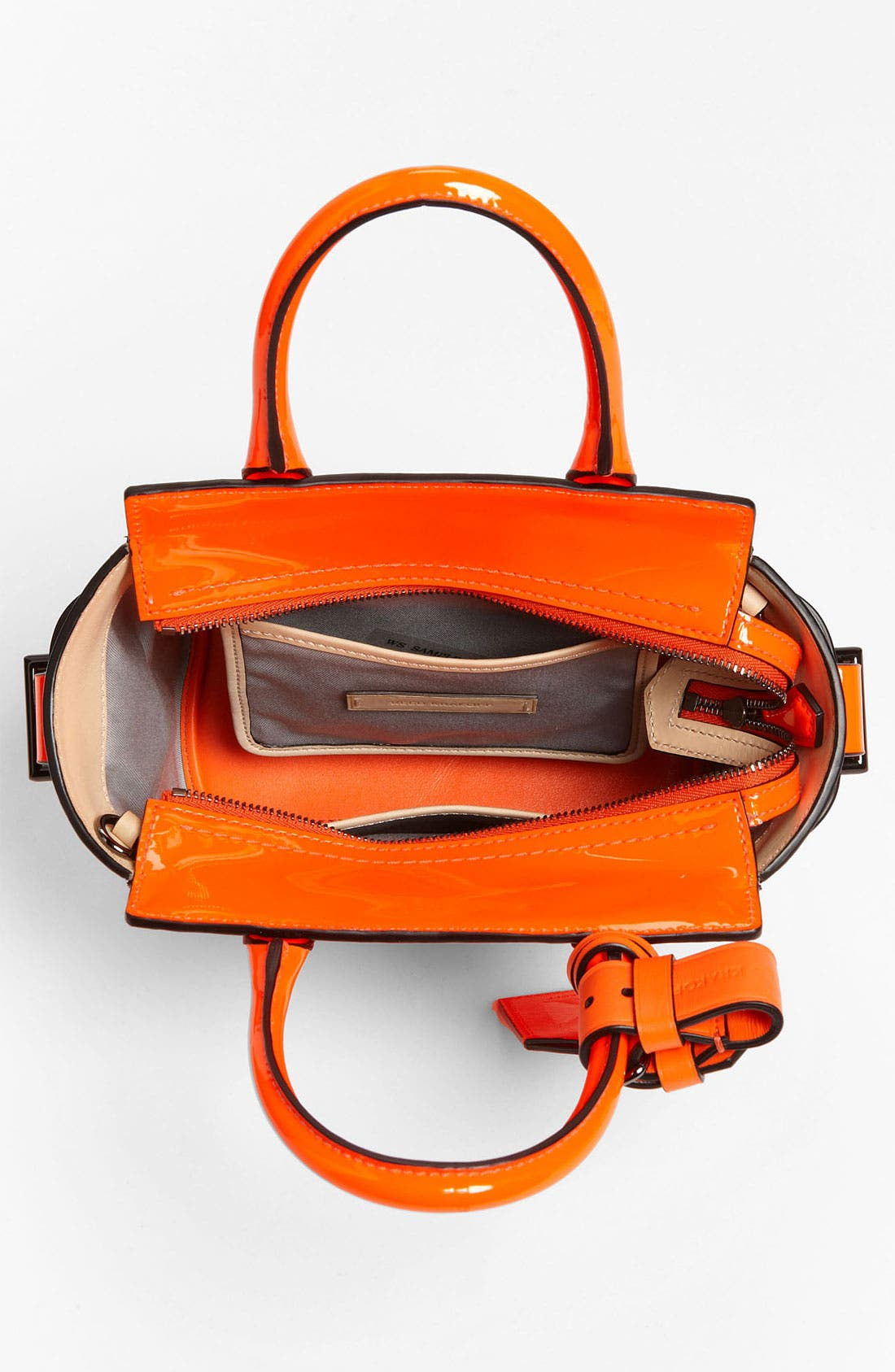 Alternate Image 3  - Reed Krakoff 'Atlantique - Micro' Patent Leather Satchel