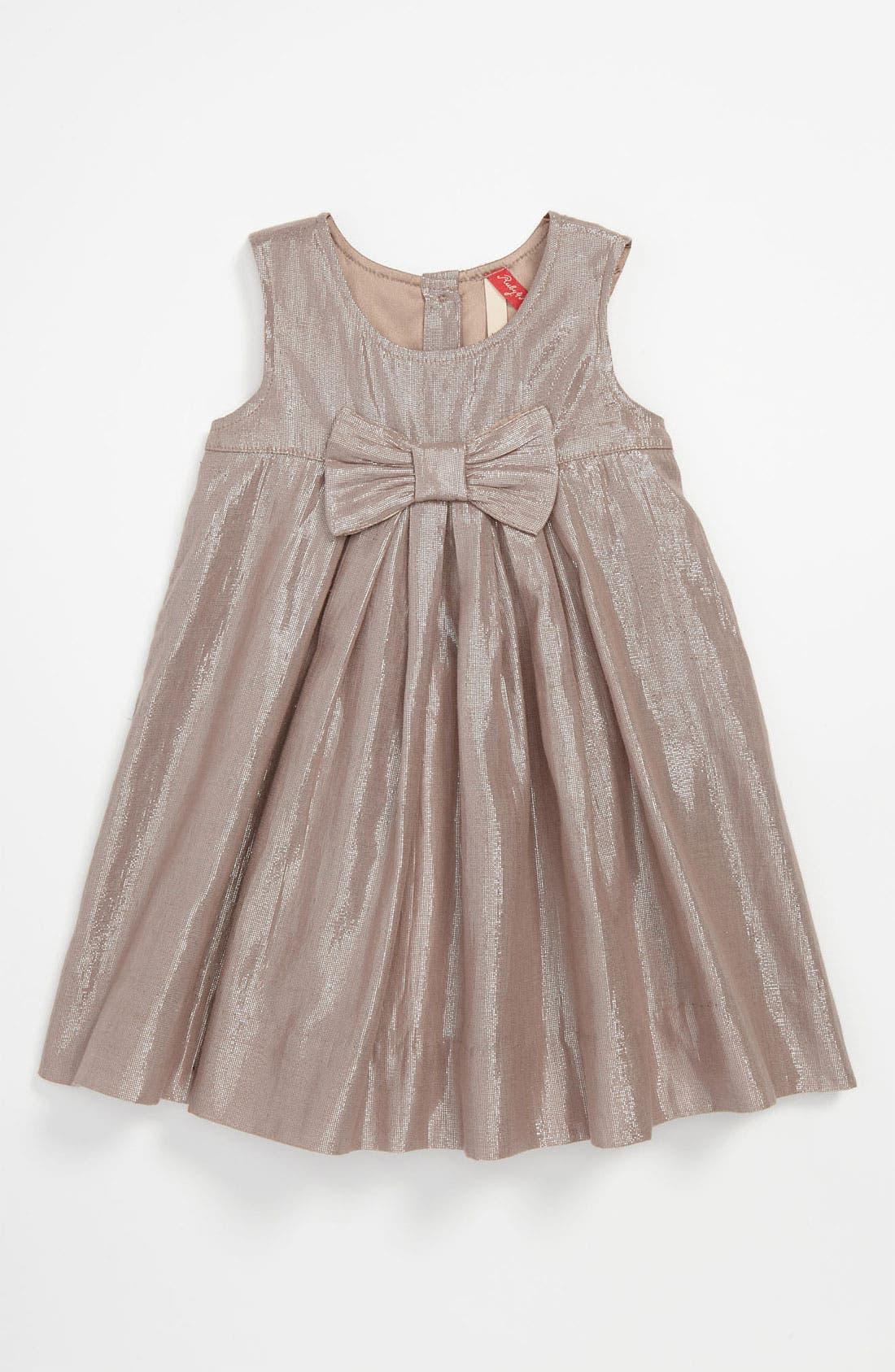 Alternate Image 1 Selected - Ruby & Bloom 'Brooke' Dress (Infant)