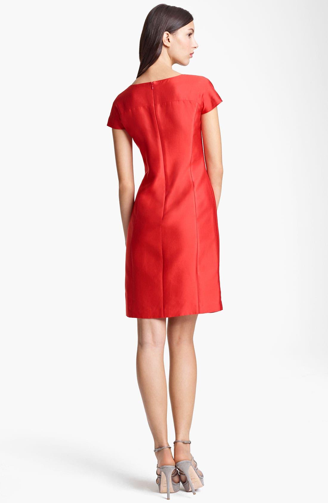 Alternate Image 2  - Armani Collezioni Reversible Dress