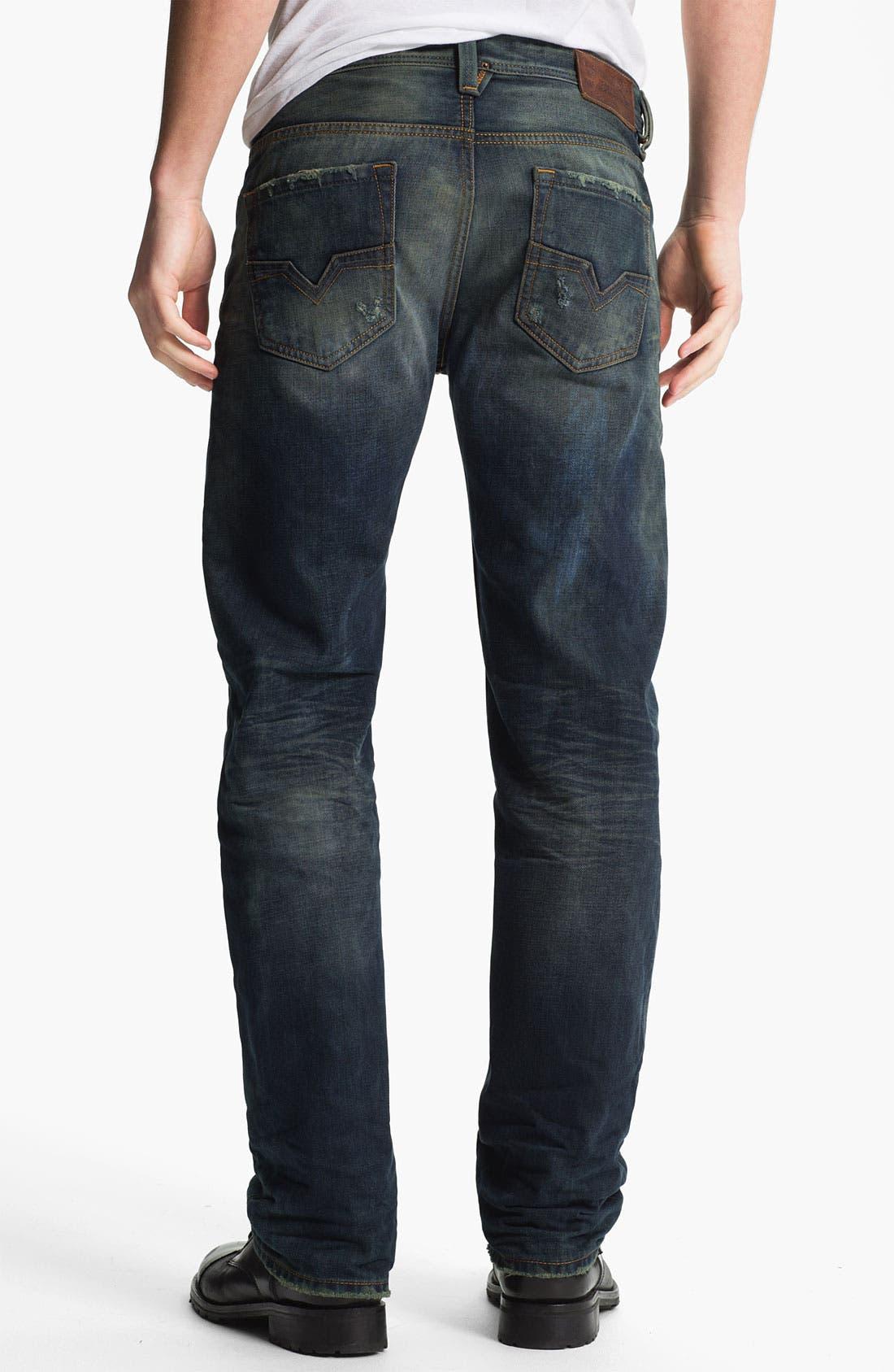 Alternate Image 1 Selected - DIESEL® 'Larkee' Straight Leg Jeans (0075L)
